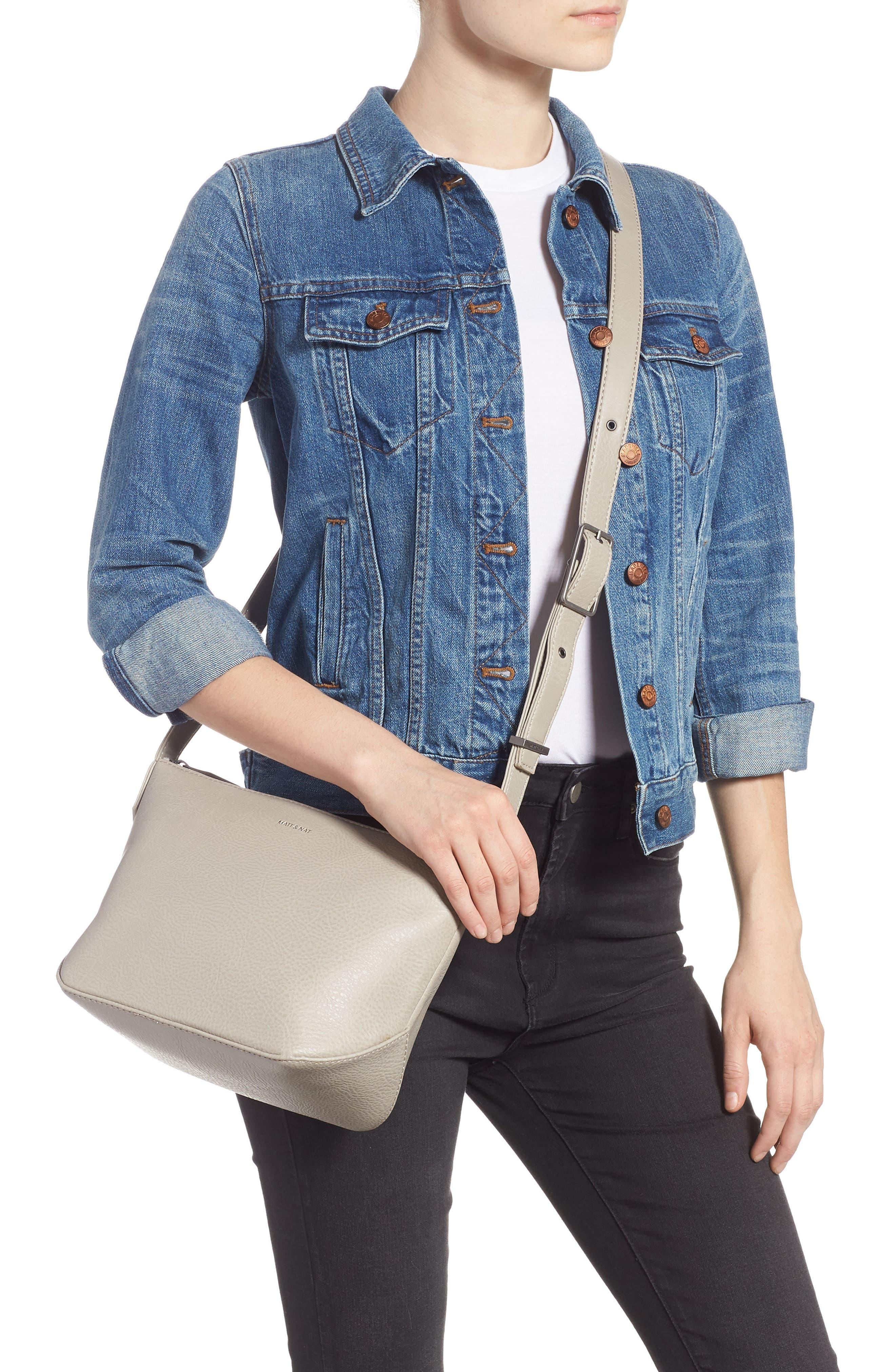 Large Sam Faux Leather Crossbody Bag,                             Alternate thumbnail 2, color,                             050