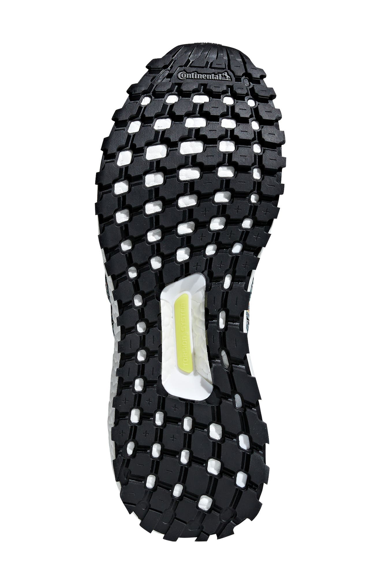 UltraBoost All Terrain LTD Running Shoe,                             Alternate thumbnail 5, color,                             ASH SILVER/ CARBON/ BLACK