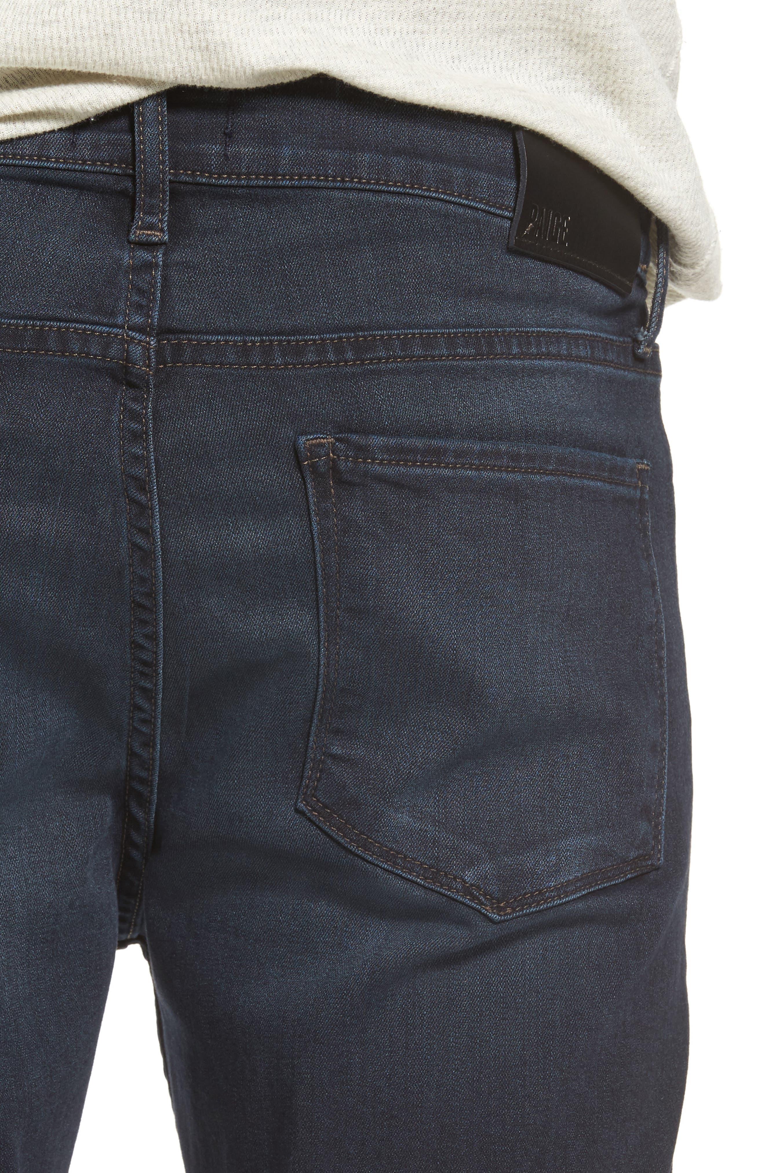 Croft Skinny Fit Jeans,                             Alternate thumbnail 4, color,                             400
