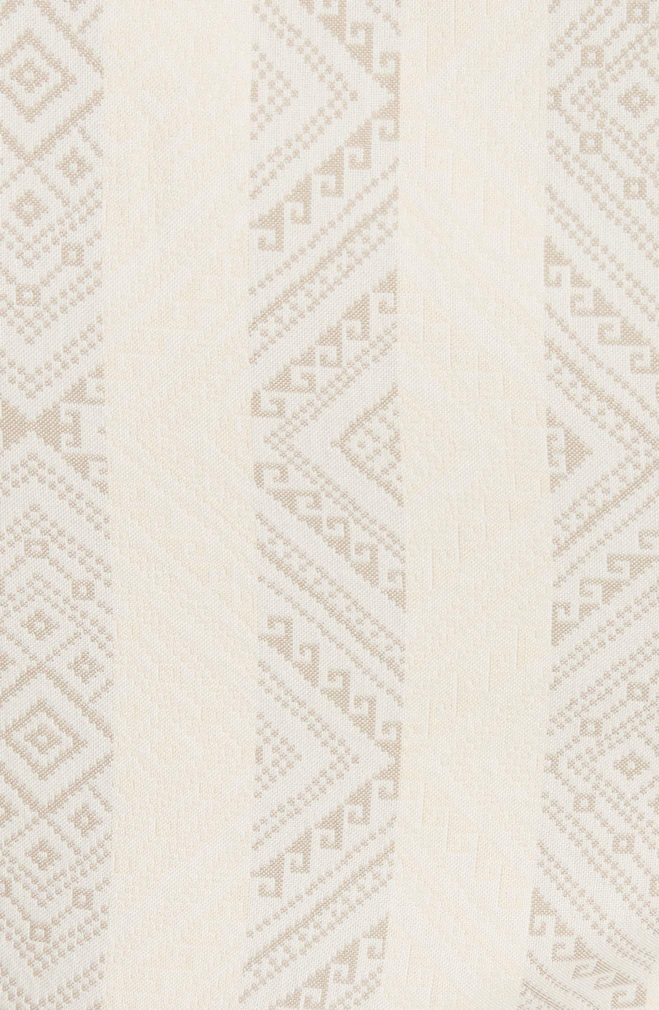 Grosgrain Tie Stripe Dress,                             Alternate thumbnail 5, color,                             106
