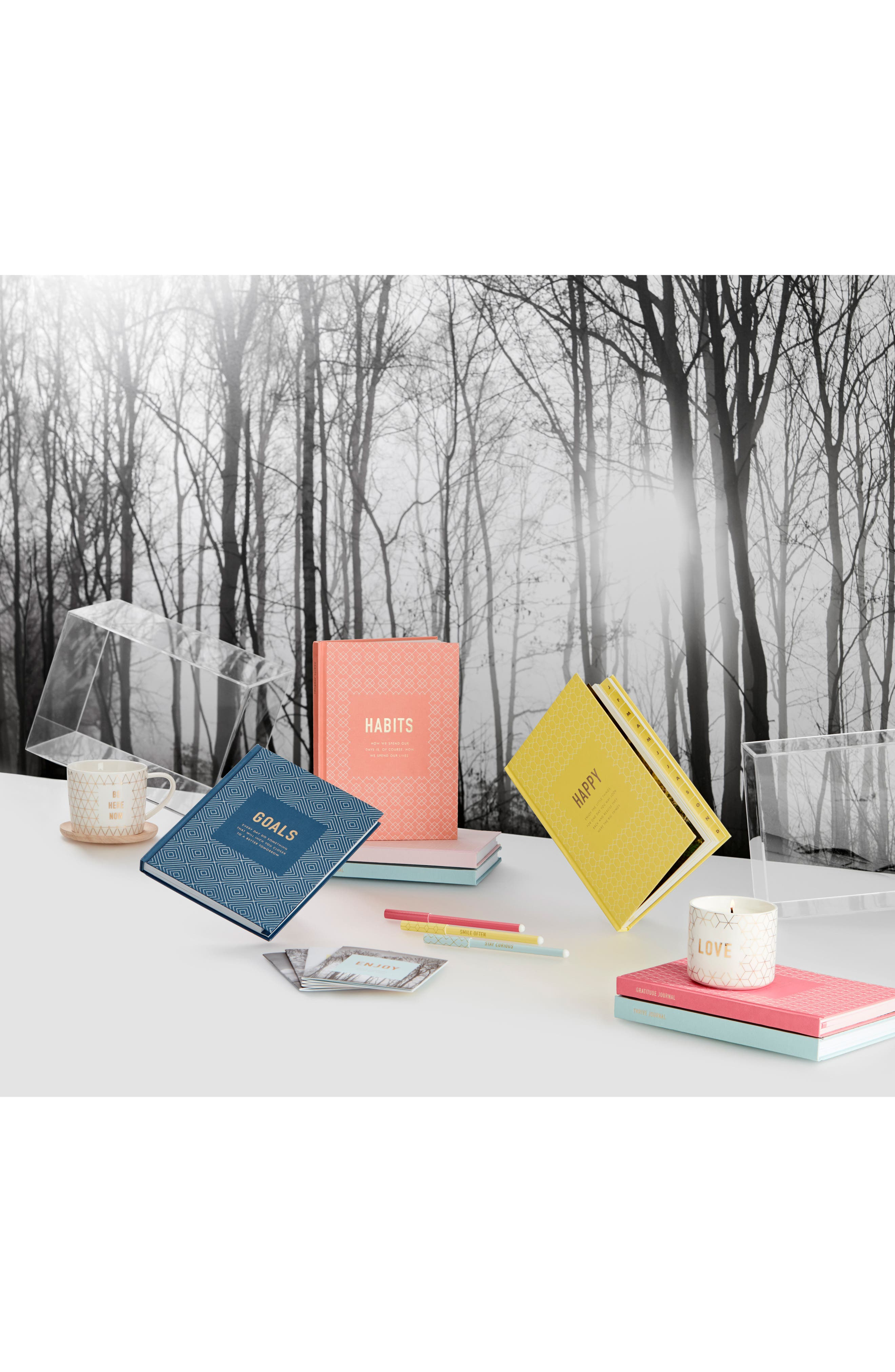 Goals: Inspiration Journal,                             Alternate thumbnail 3, color,                             NAVY