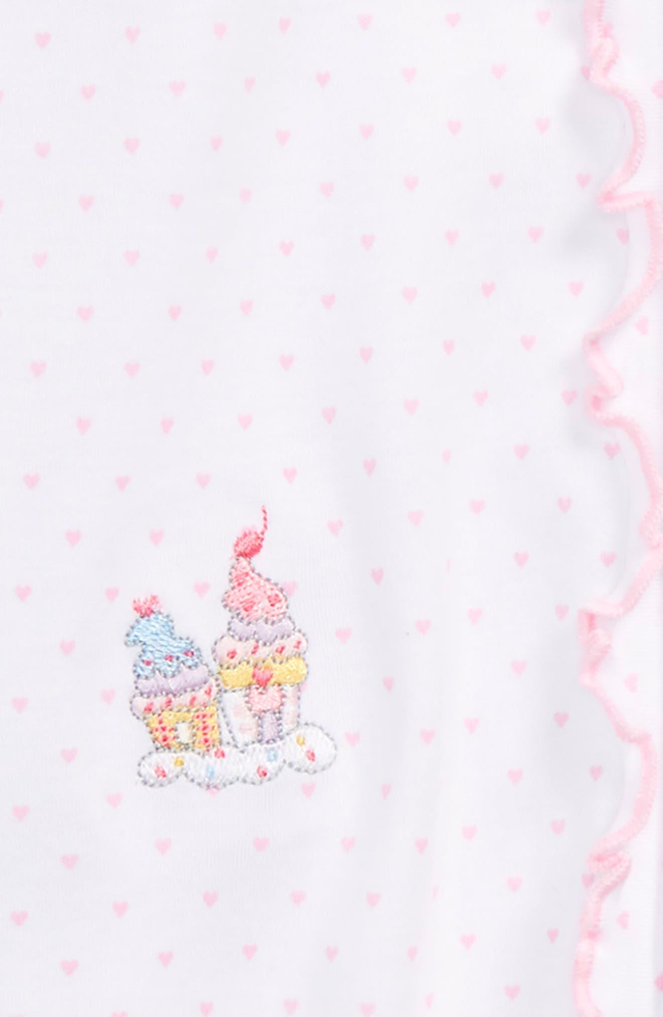 Princess Carriage Footie,                             Alternate thumbnail 2, color,