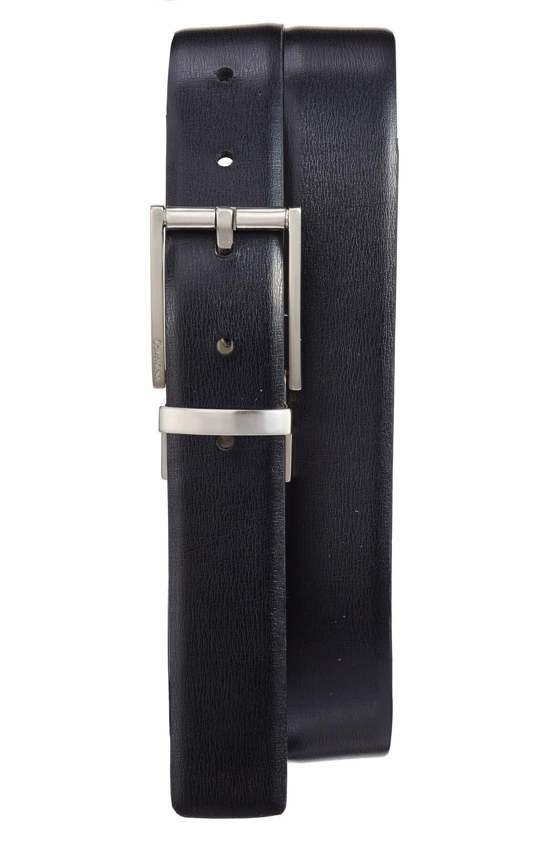 Reversible Leather Belt,                             Alternate thumbnail 2, color,                             100