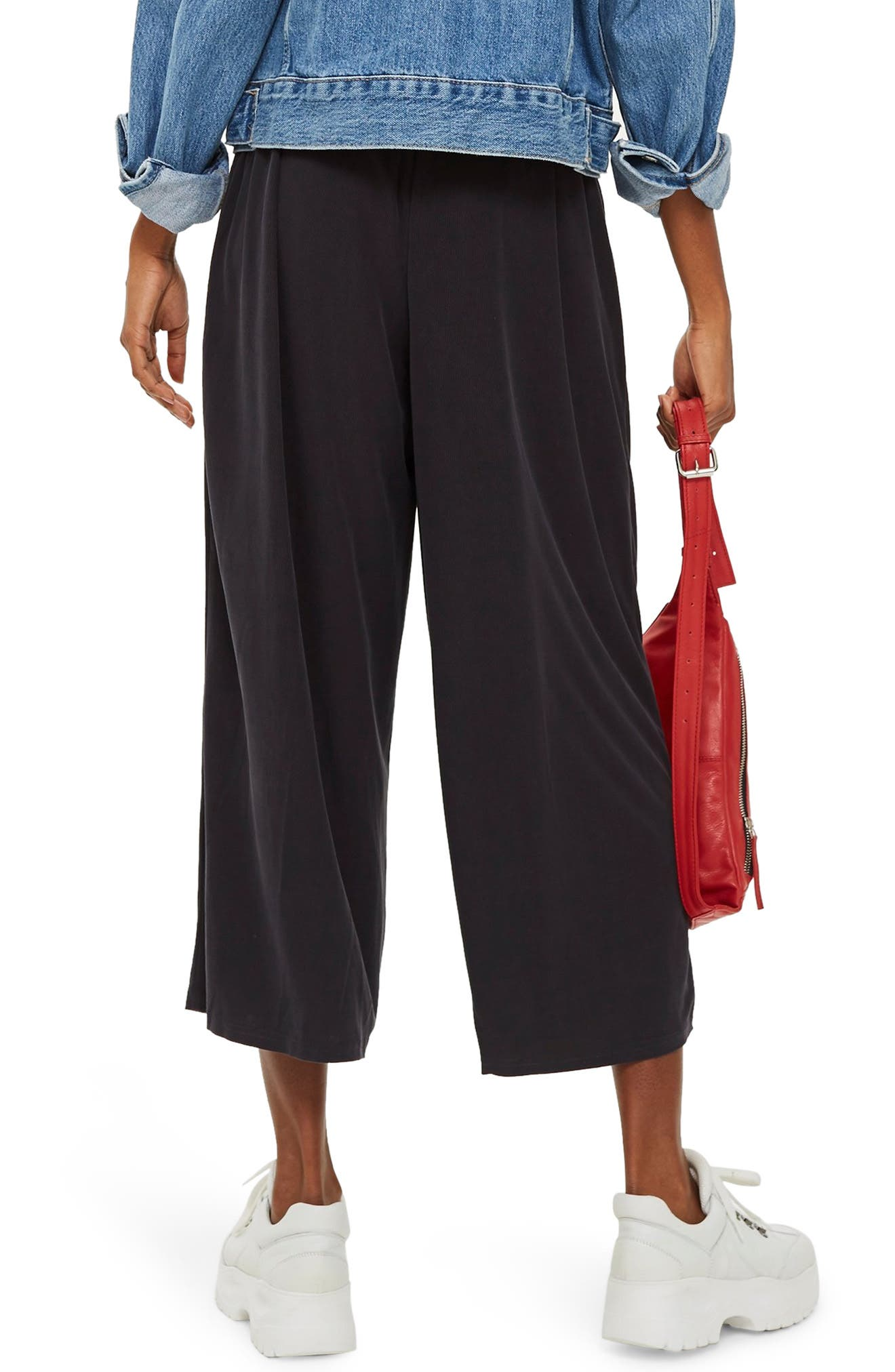 Pull On Culottes,                             Alternate thumbnail 2, color,                             003