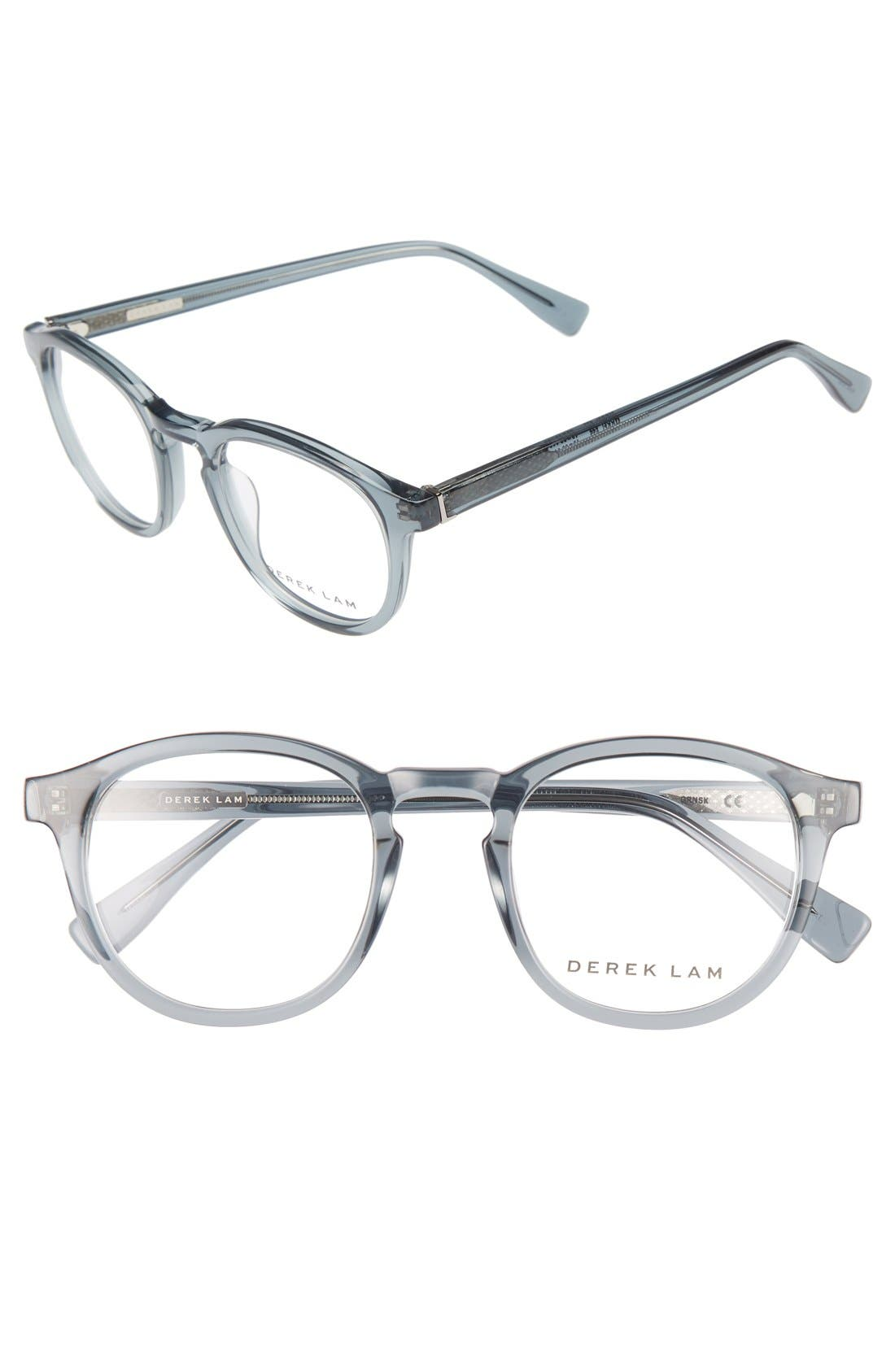 48mm Optical Glasses,                             Main thumbnail 1, color,                             GREEN SMOKE