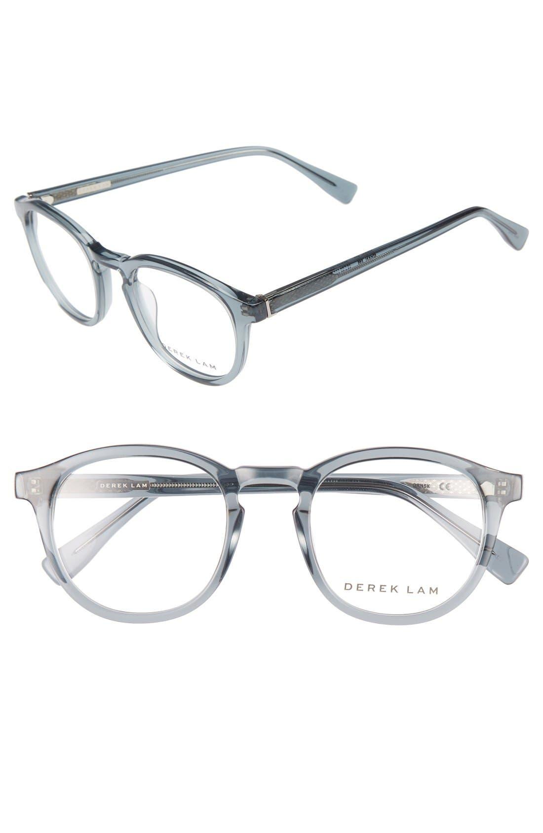 48mm Optical Glasses,                         Main,                         color, GREEN SMOKE