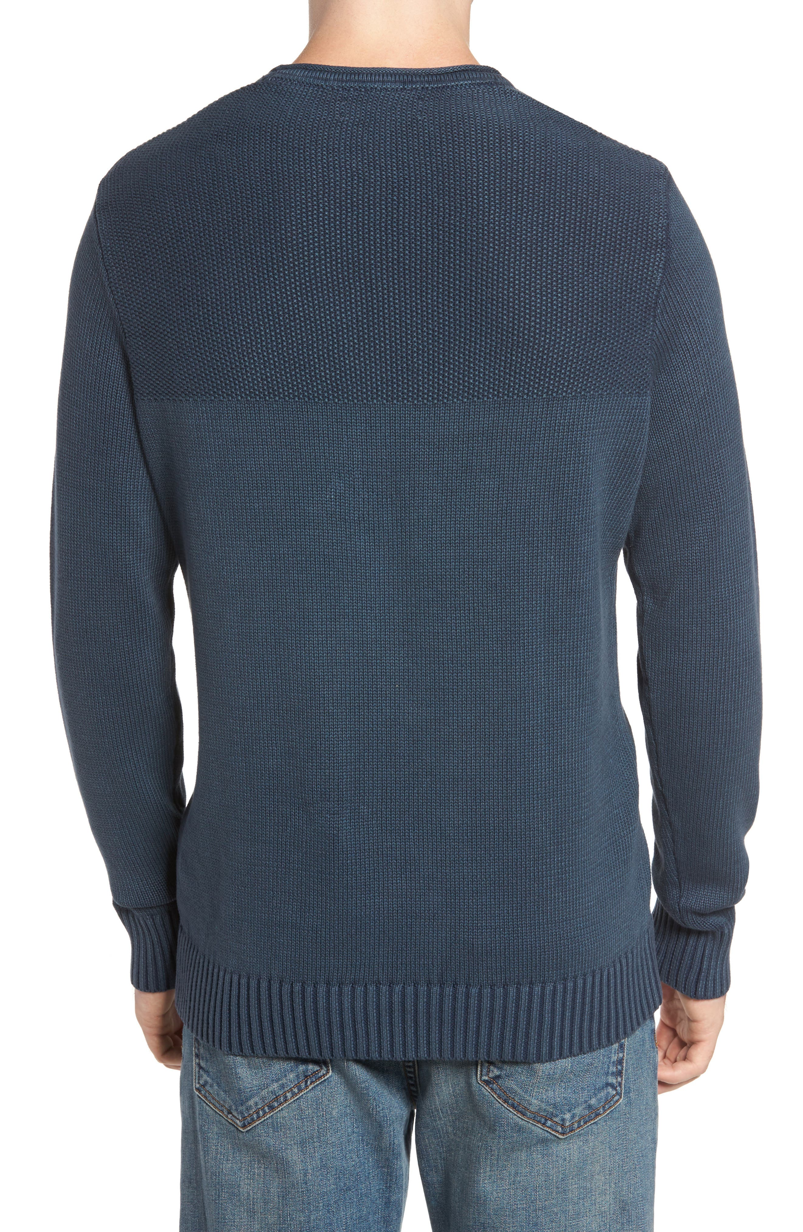 Sun Faded Sweater,                             Alternate thumbnail 4, color,