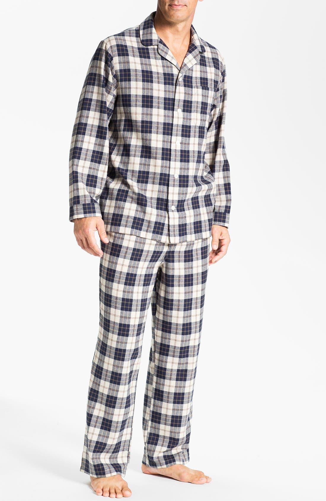 '824' Flannel Pajama Set,                             Main thumbnail 28, color,