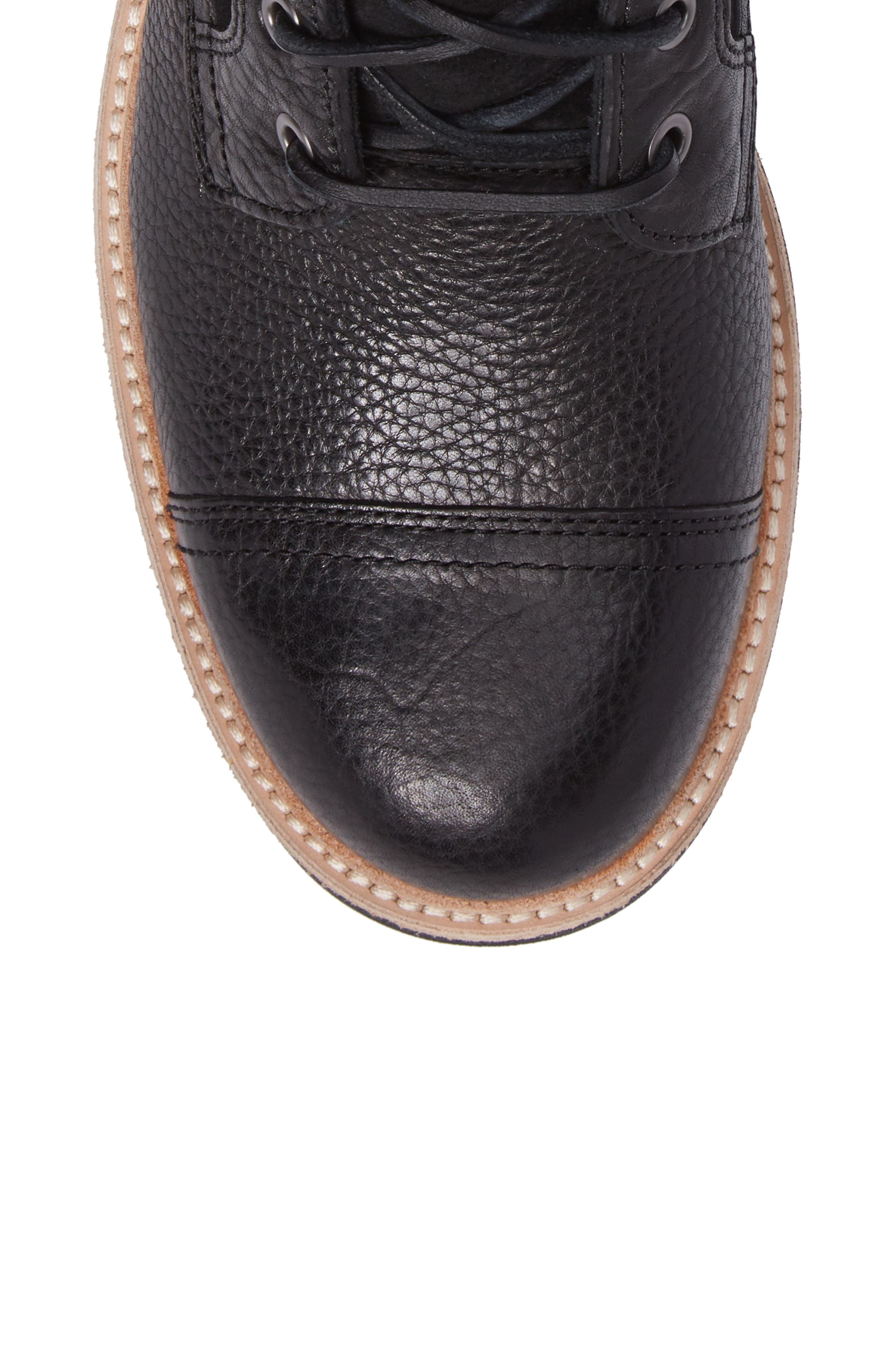 UGG<SUP>®</SUP>,                             Magnusson Cap Toe Boot,                             Alternate thumbnail 5, color,                             001