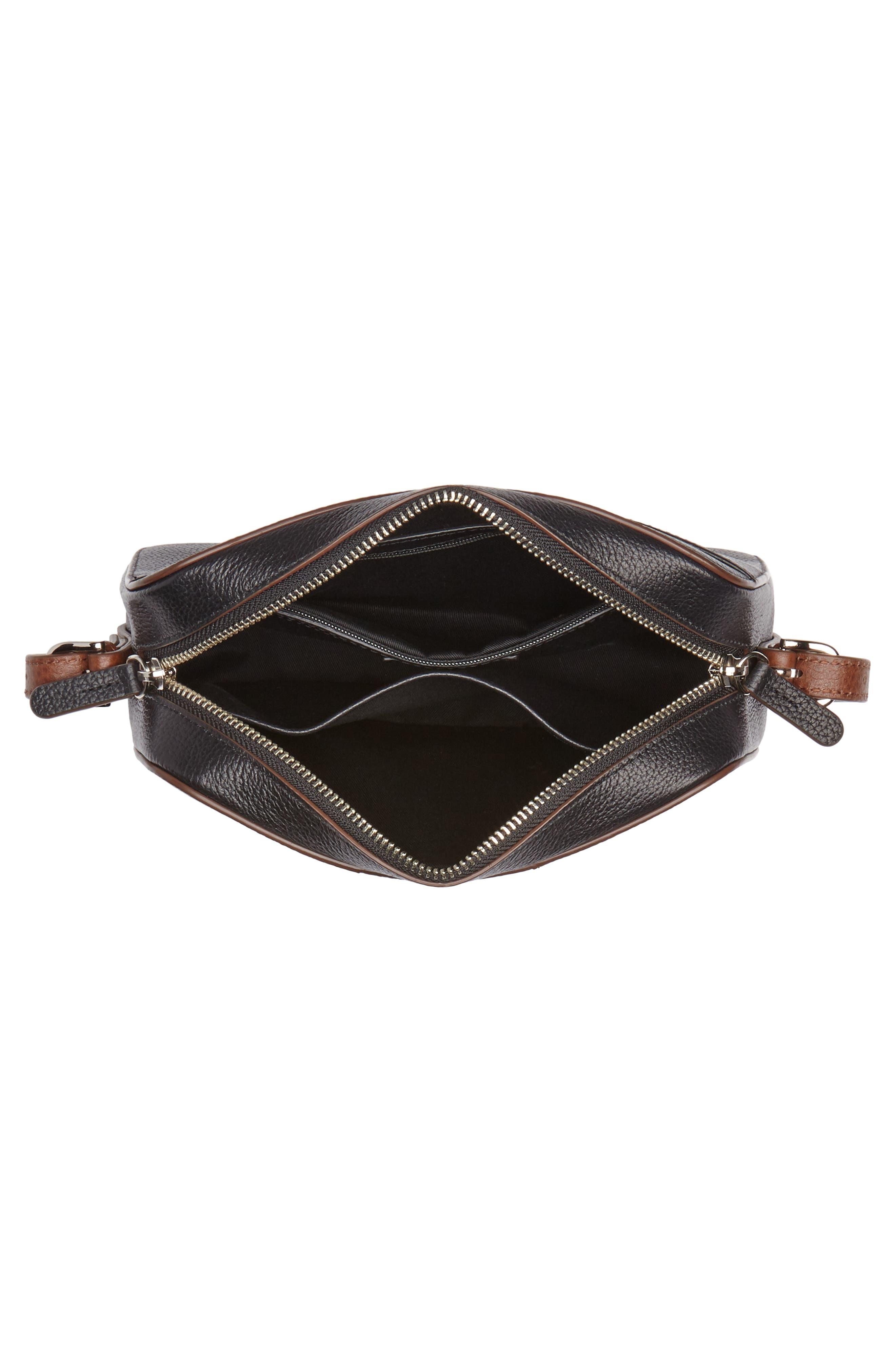 Brayden Leather Crossbody Camera Bag,                             Alternate thumbnail 17, color,