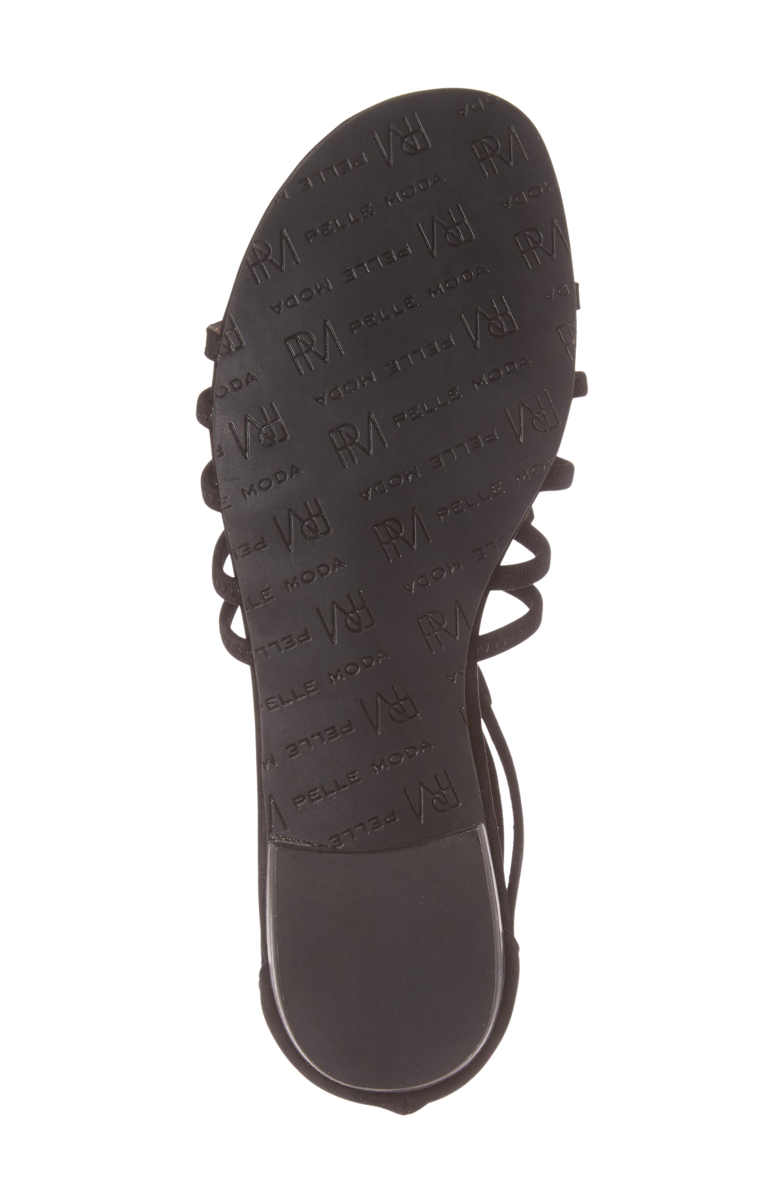 Brazil Strappy Sandal,                             Alternate thumbnail 6, color,                             001