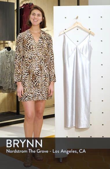 V-neck Bias Cut Dress, sales video thumbnail