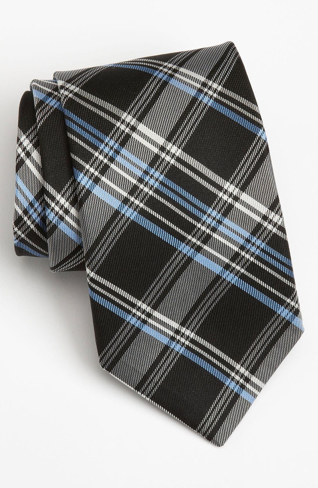 Nordstrom Woven Silk Tie,                             Main thumbnail 1, color,                             001