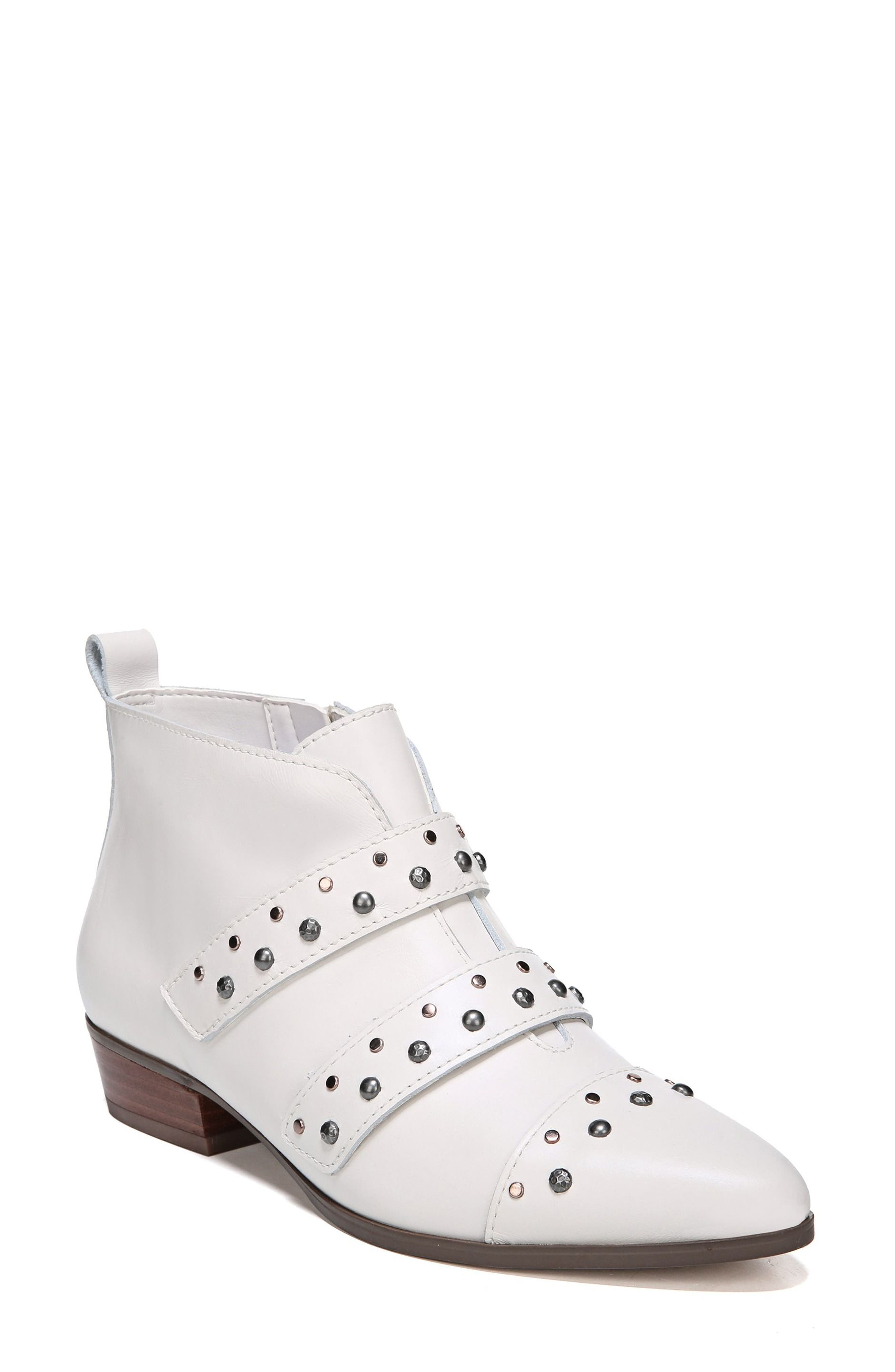 Naturalizer Blissful Studded Bootie, White