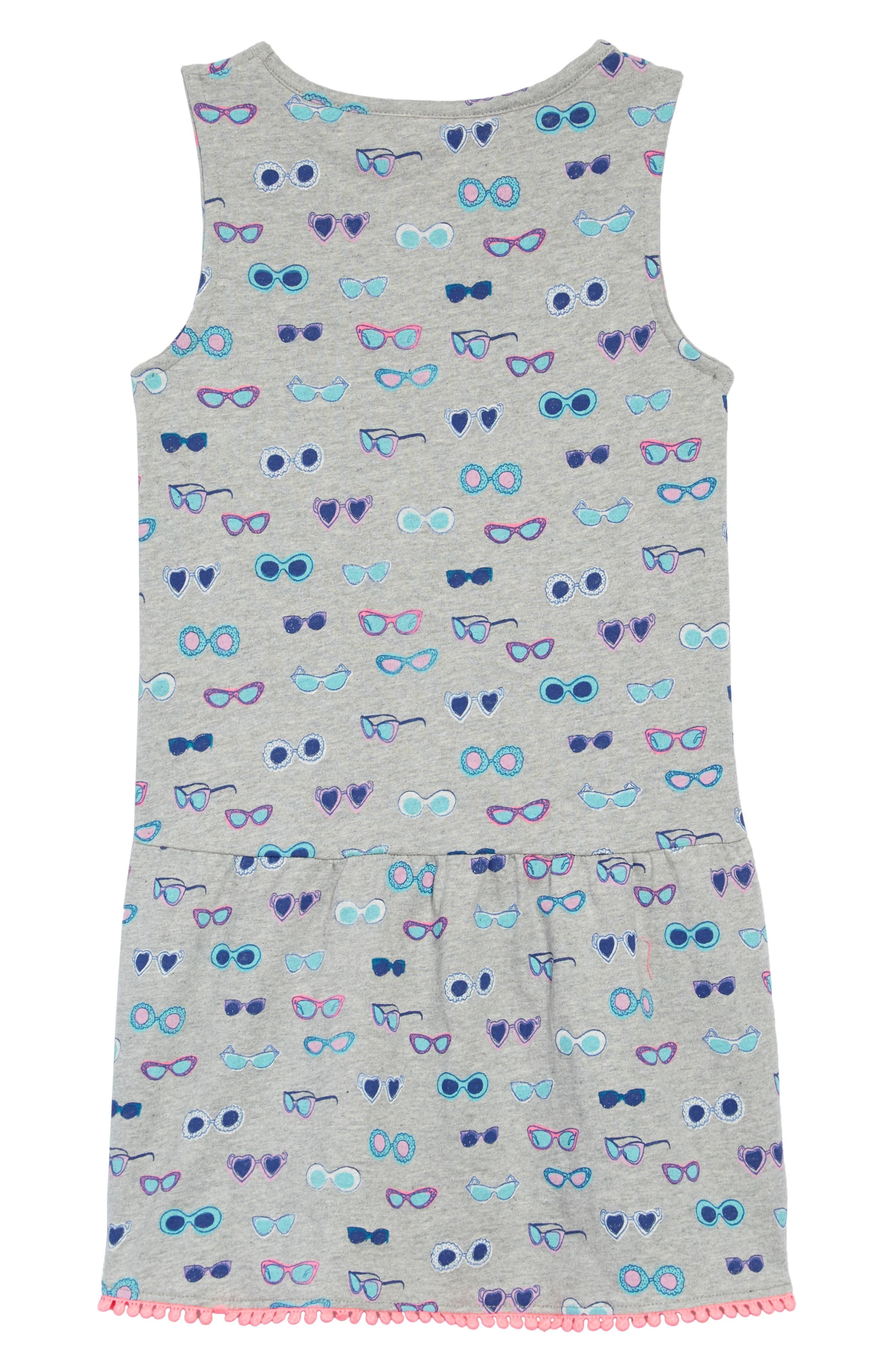 Drop-Waist Jersey Dress,                             Alternate thumbnail 2, color,                             062