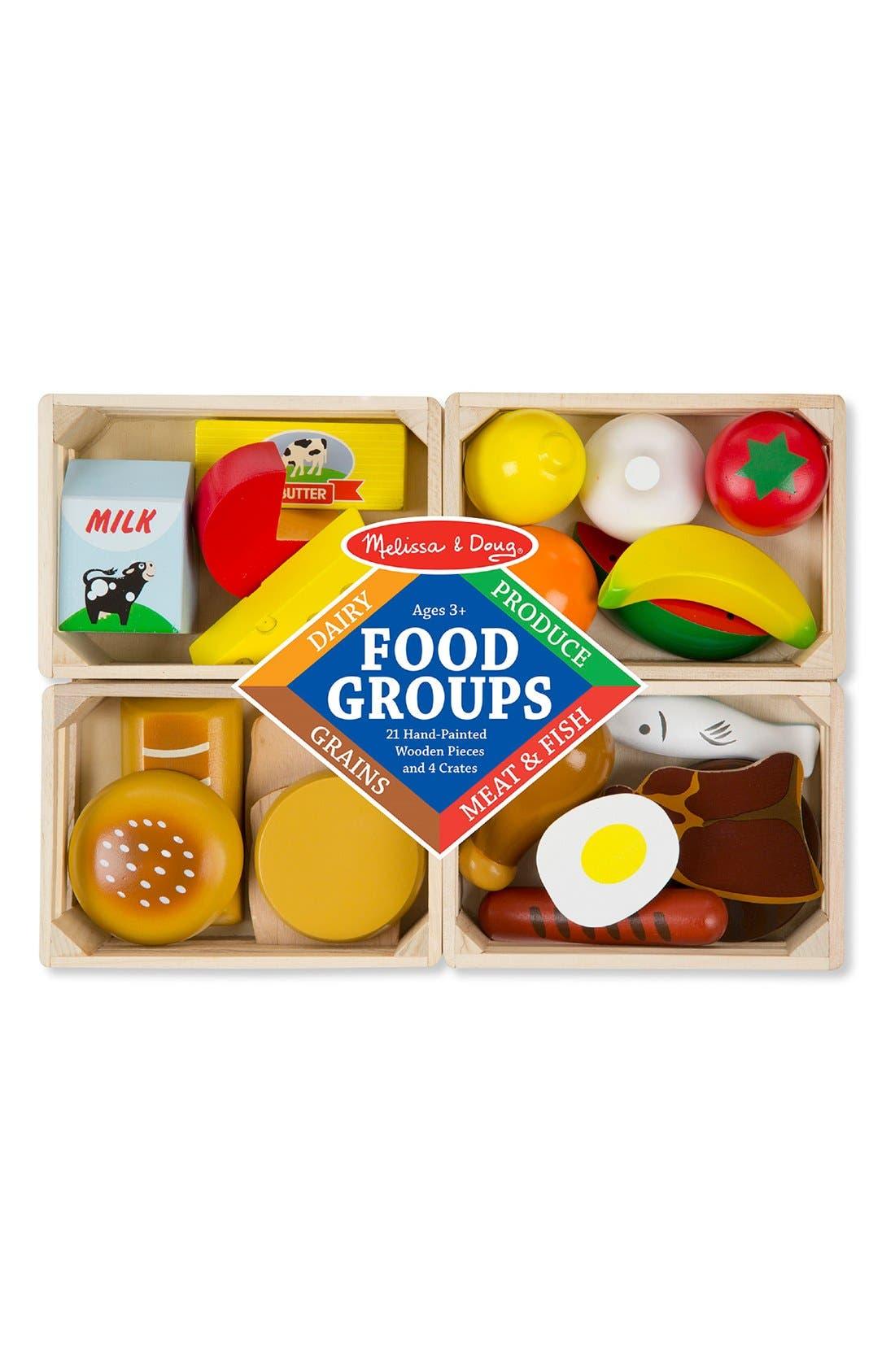Food Groups Set,                             Main thumbnail 1, color,                             MULTI
