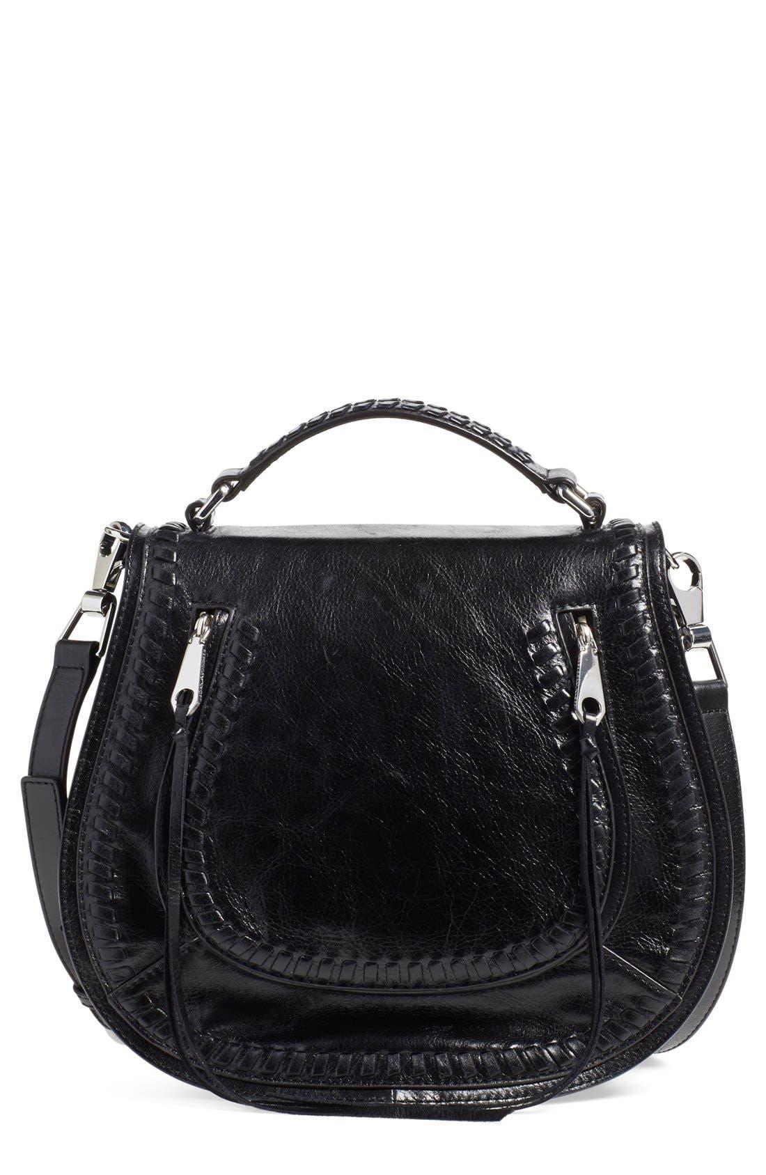 Vanity Saddle Bag,                         Main,                         color, 001