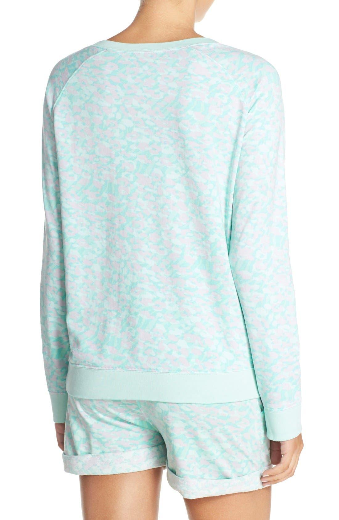 Burnout Lounge Sweatshirt,                             Alternate thumbnail 328, color,