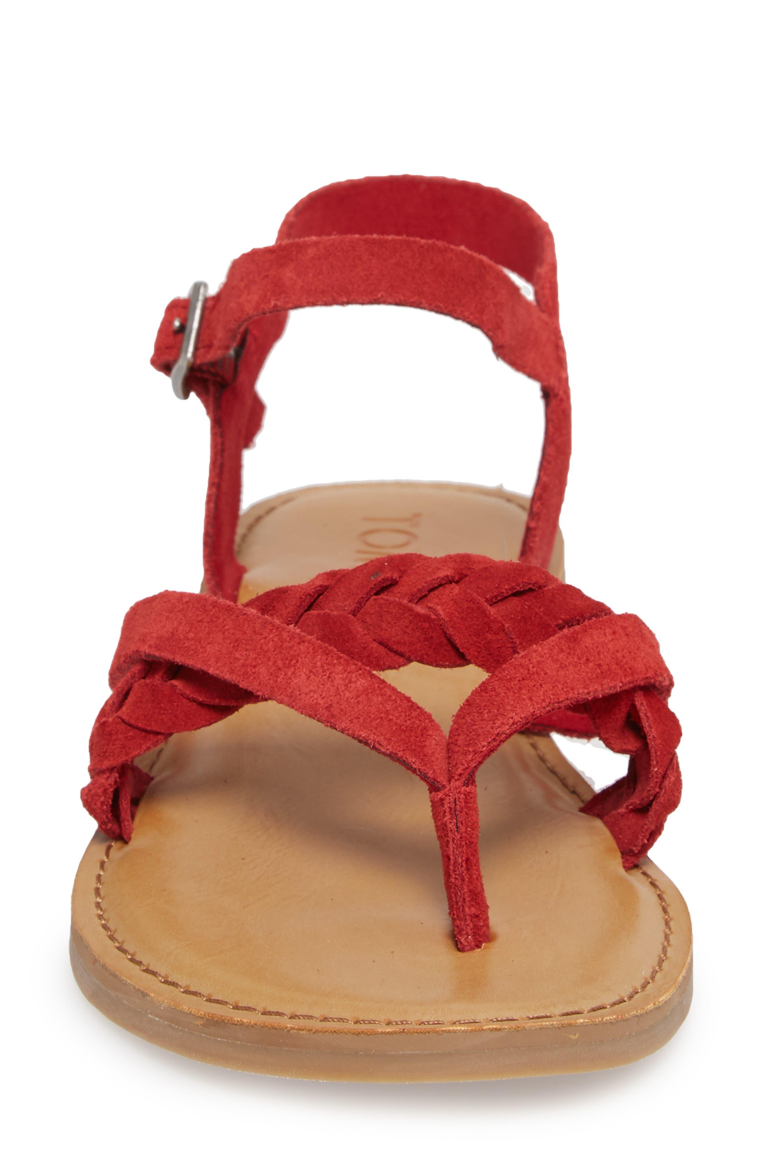 'Lexie' Sandal,                             Alternate thumbnail 4, color,                             601