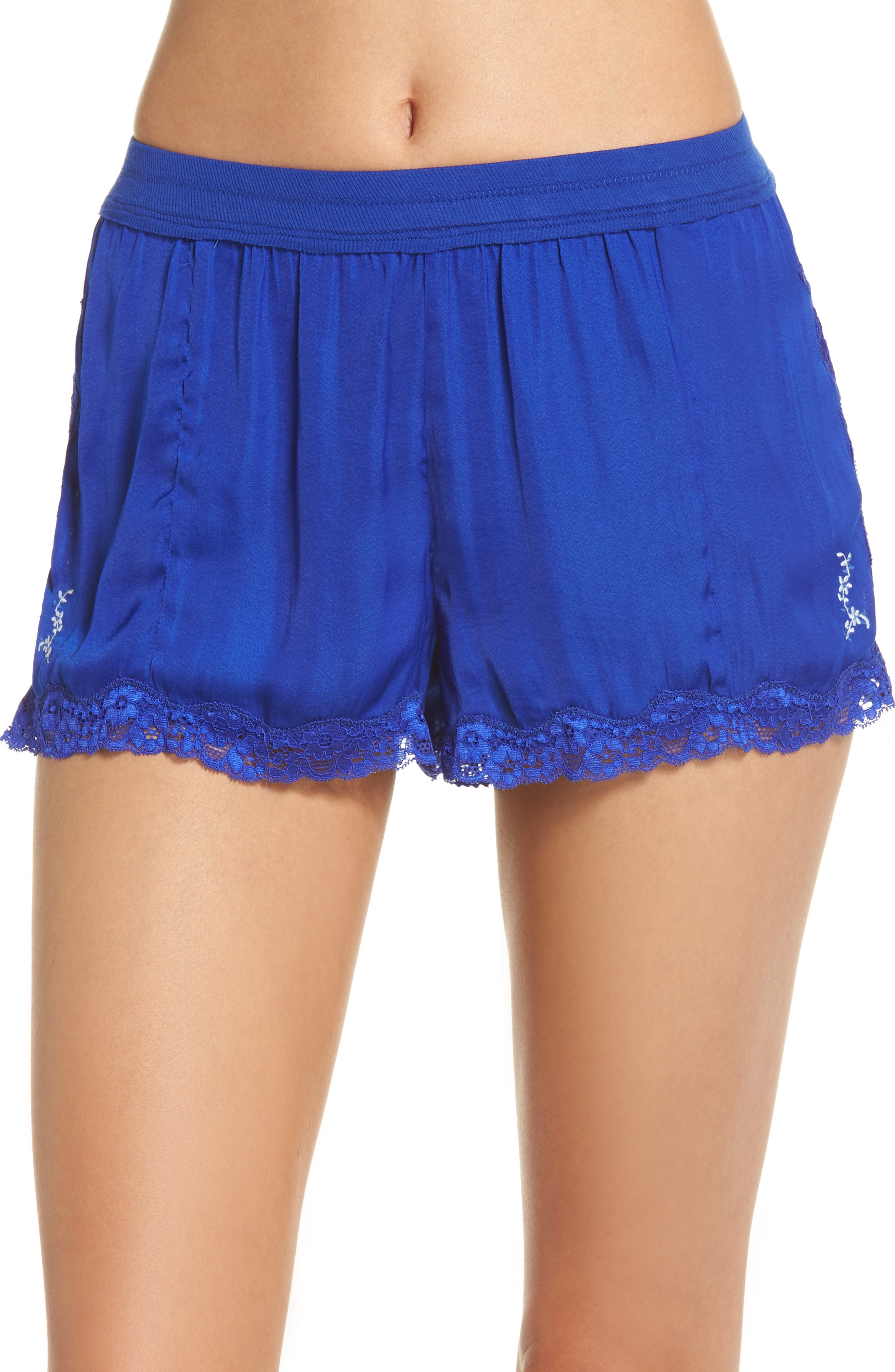 Intimately FP High Side Shorts,                             Main thumbnail 1, color,                             BLUE