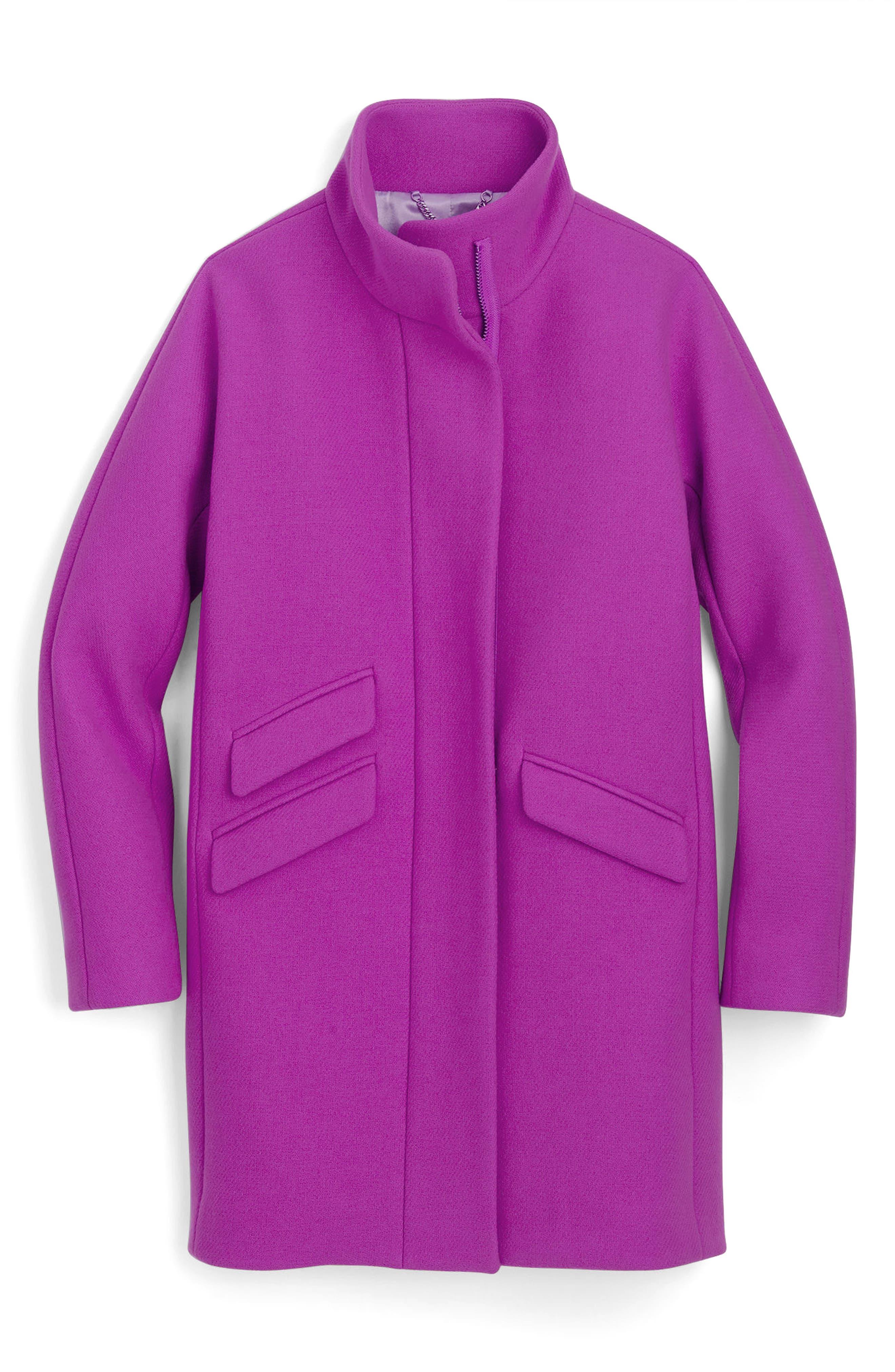 Stadium Cloth Cocoon Coat,                             Main thumbnail 8, color,