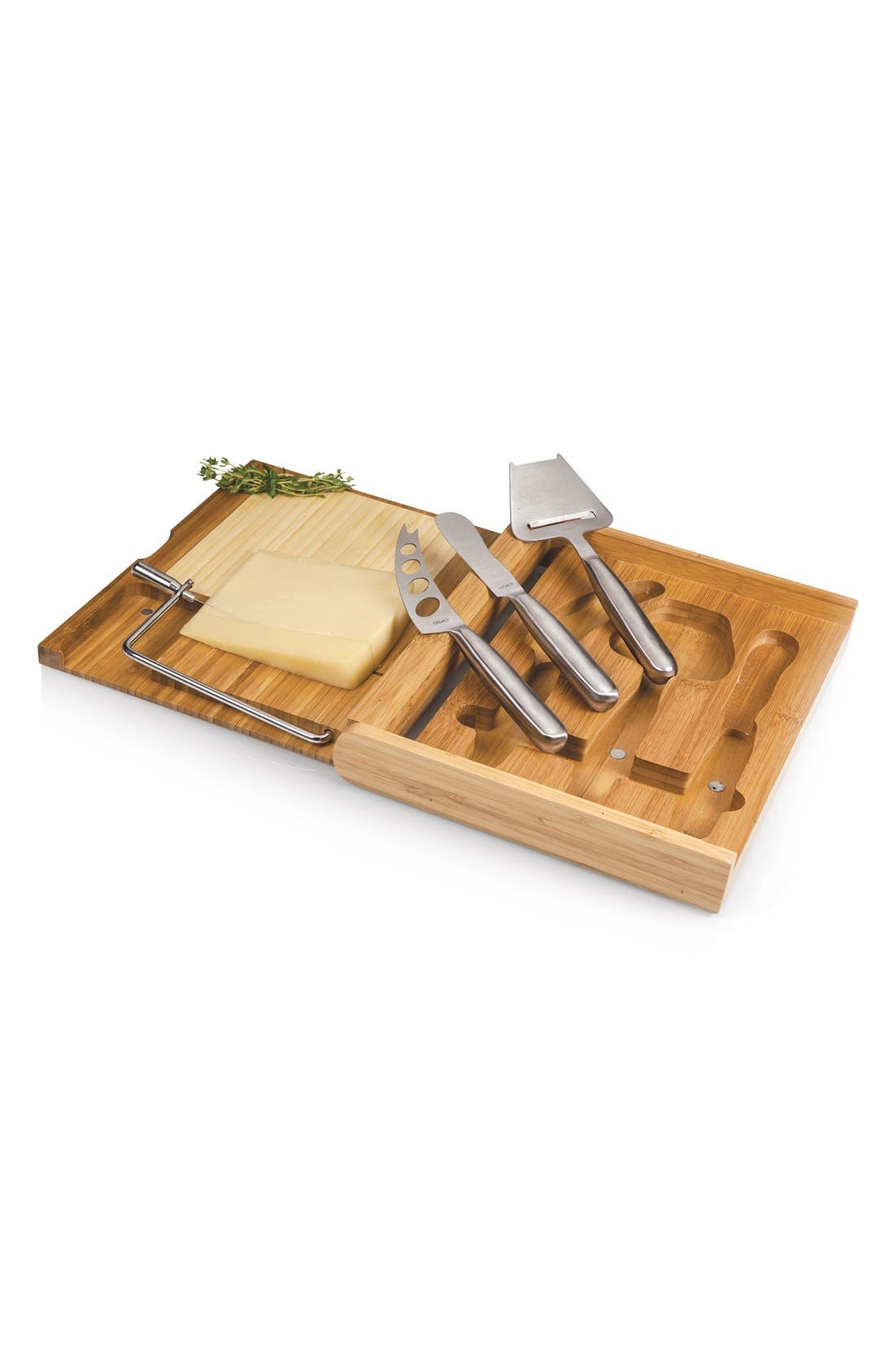 'Soirée' Cheese Board Set,                             Alternate thumbnail 4, color,                             200