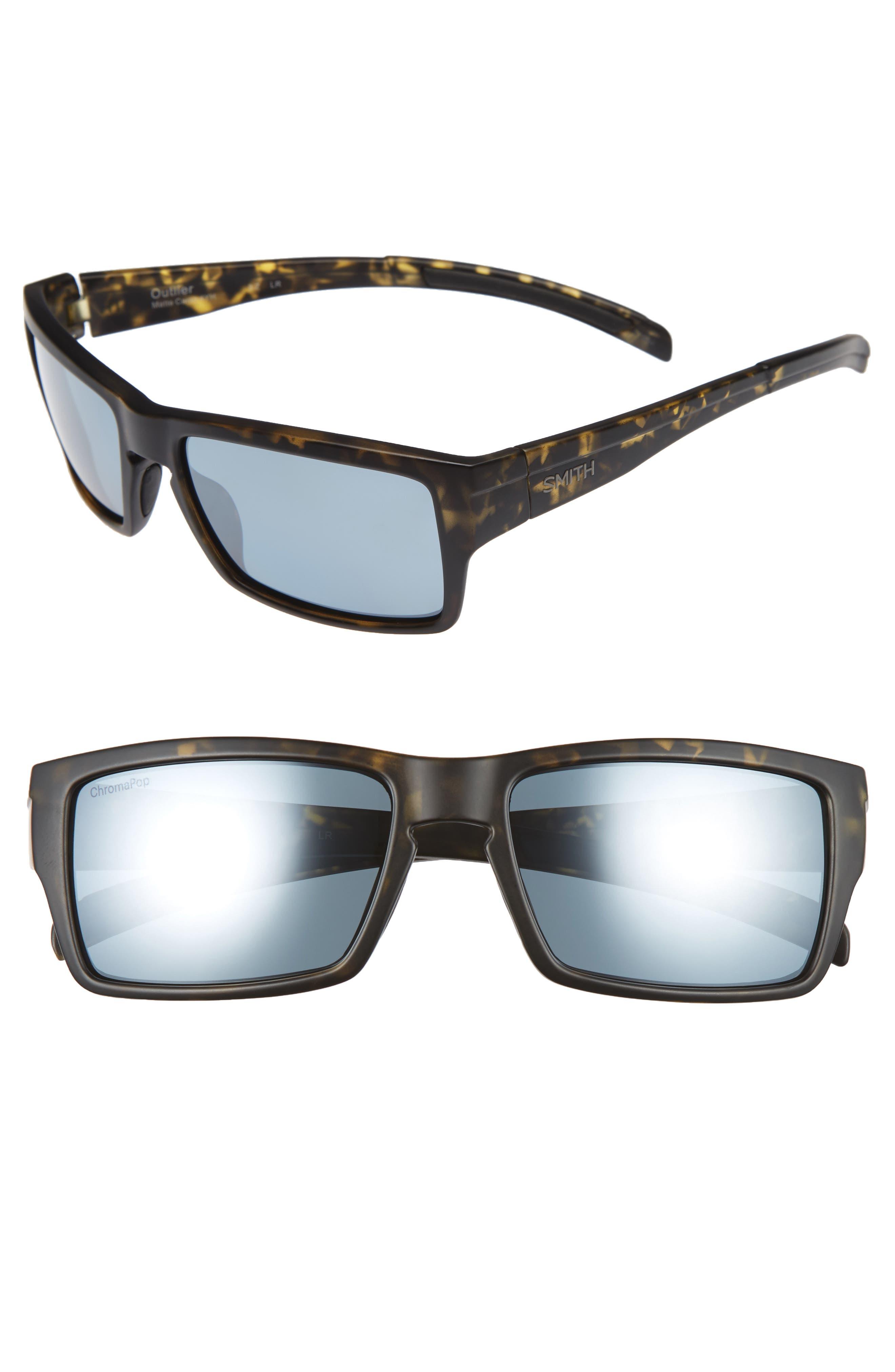 Outlier 56mm ChromaPop Polarized Sunglasses,                             Main thumbnail 2, color,