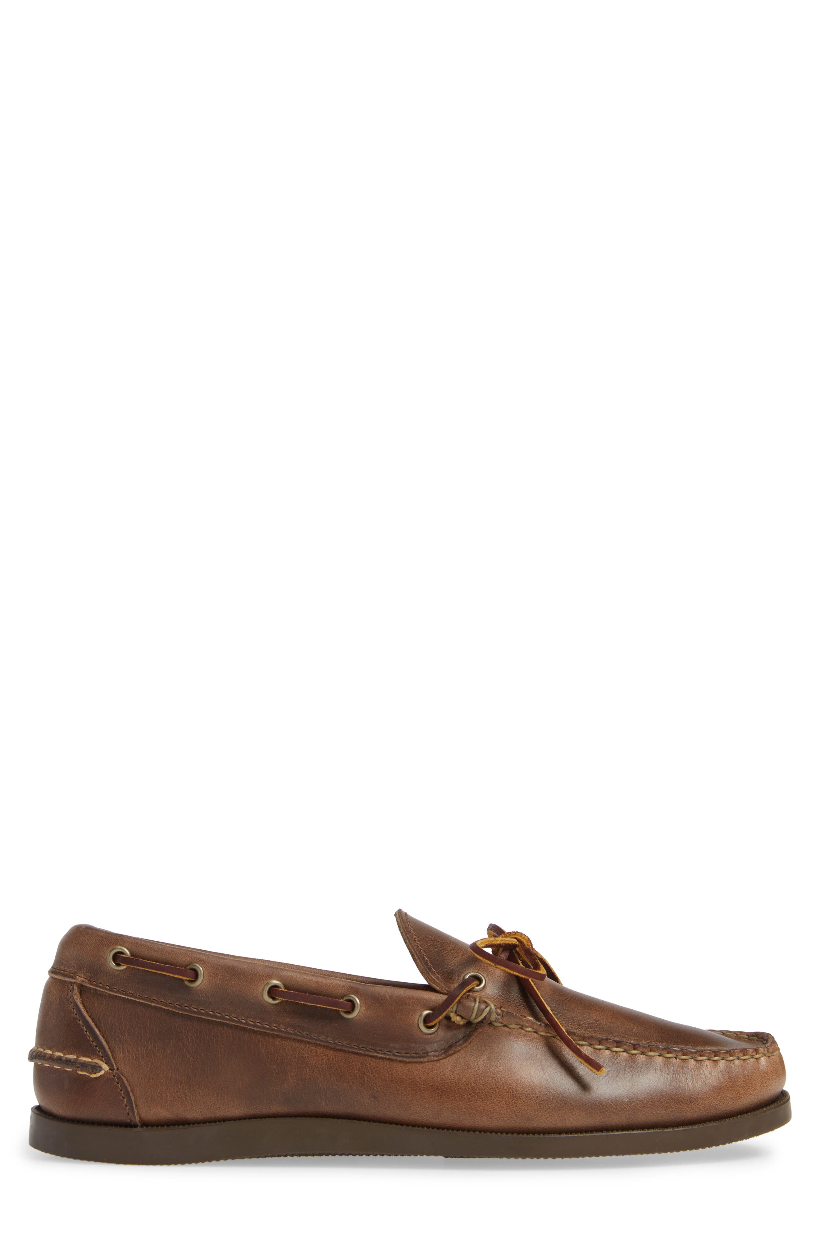 Camp Moccasin,                             Alternate thumbnail 3, color,                             NATURAL LEATHER