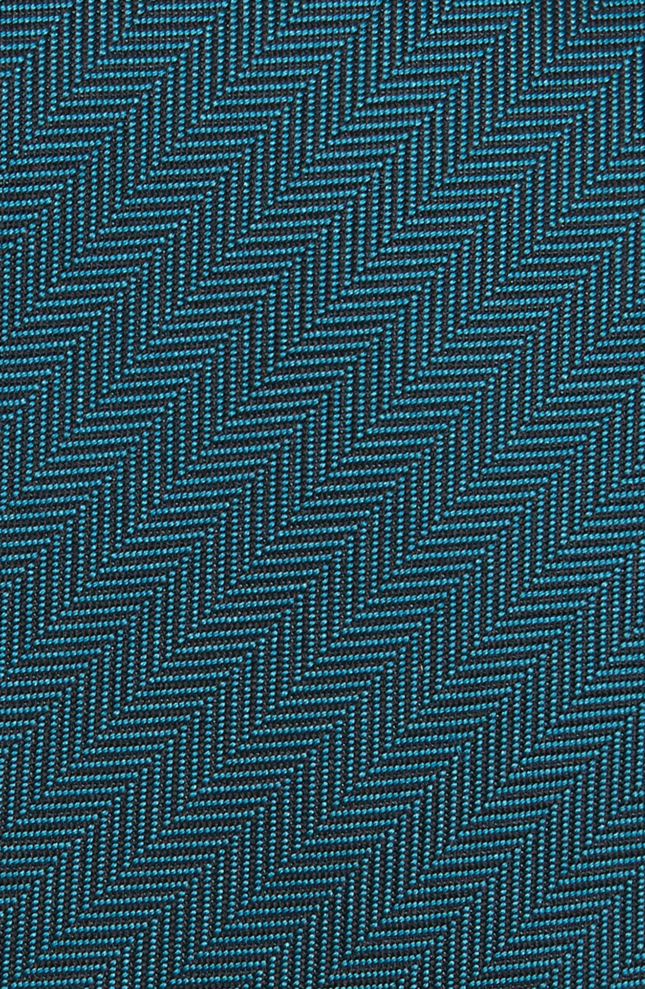 Herringbone Silk Tie,                             Alternate thumbnail 2, color,                             452