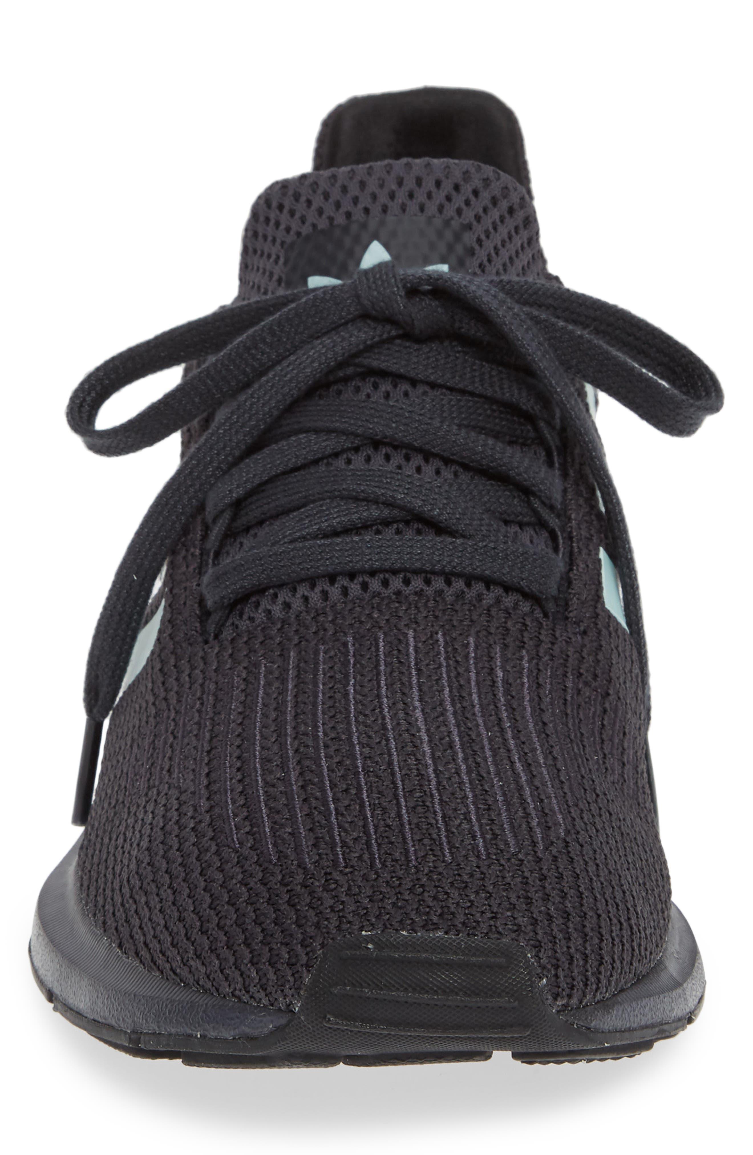 Swift Run Running Shoe,                             Alternate thumbnail 4, color,                             GREY/ GREEN/ BLACK