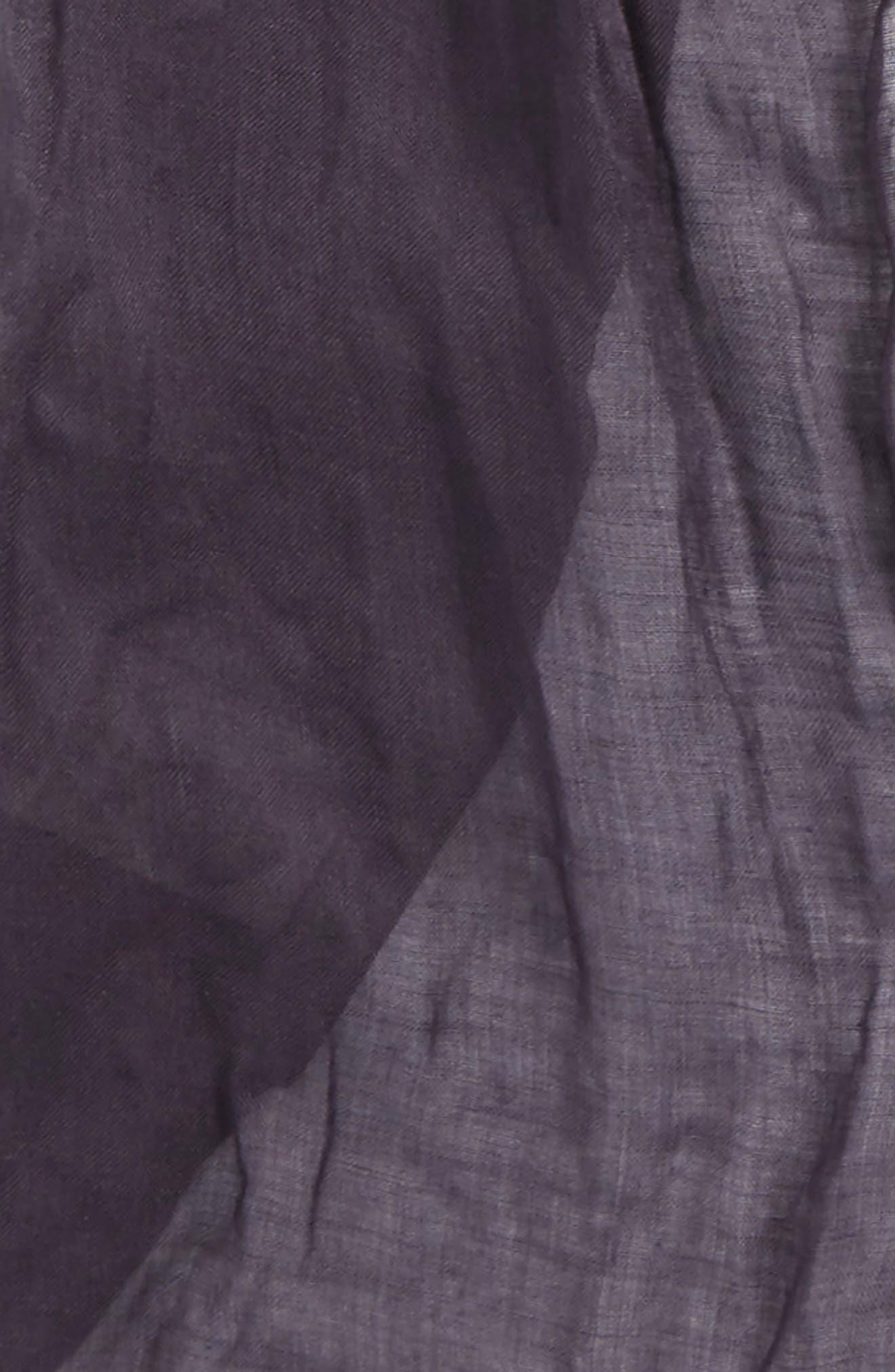 Crinkled Modal & Silk Scarf,                             Alternate thumbnail 3, color,                             541