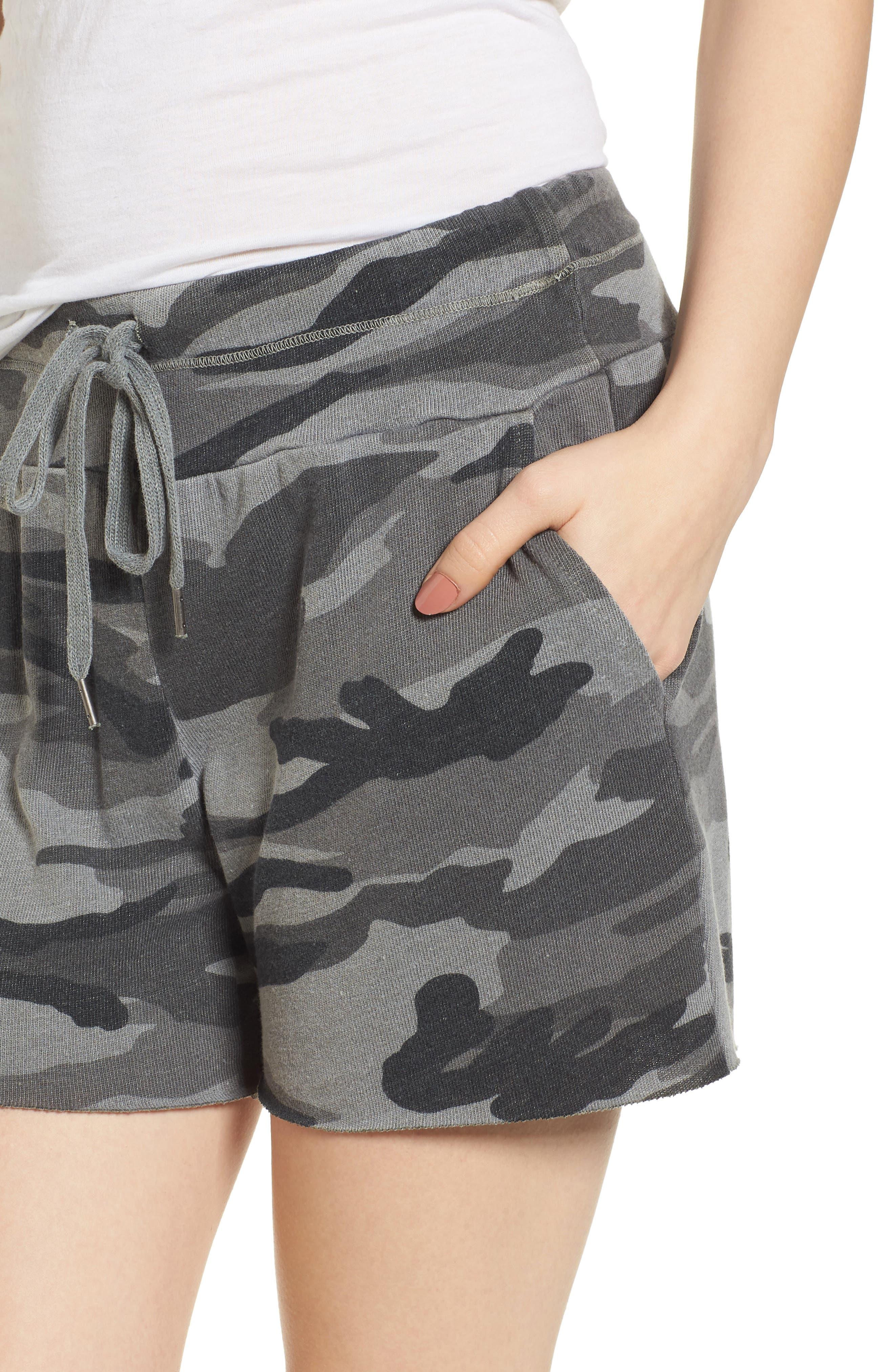 Camo Shorts,                             Alternate thumbnail 4, color,                             301