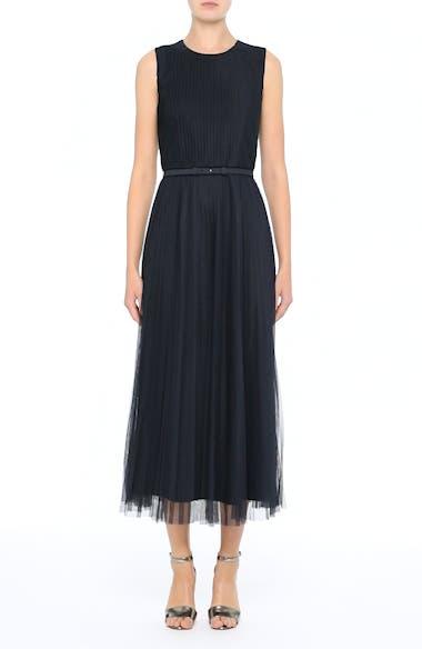 Pleated Mesh Dress, video thumbnail