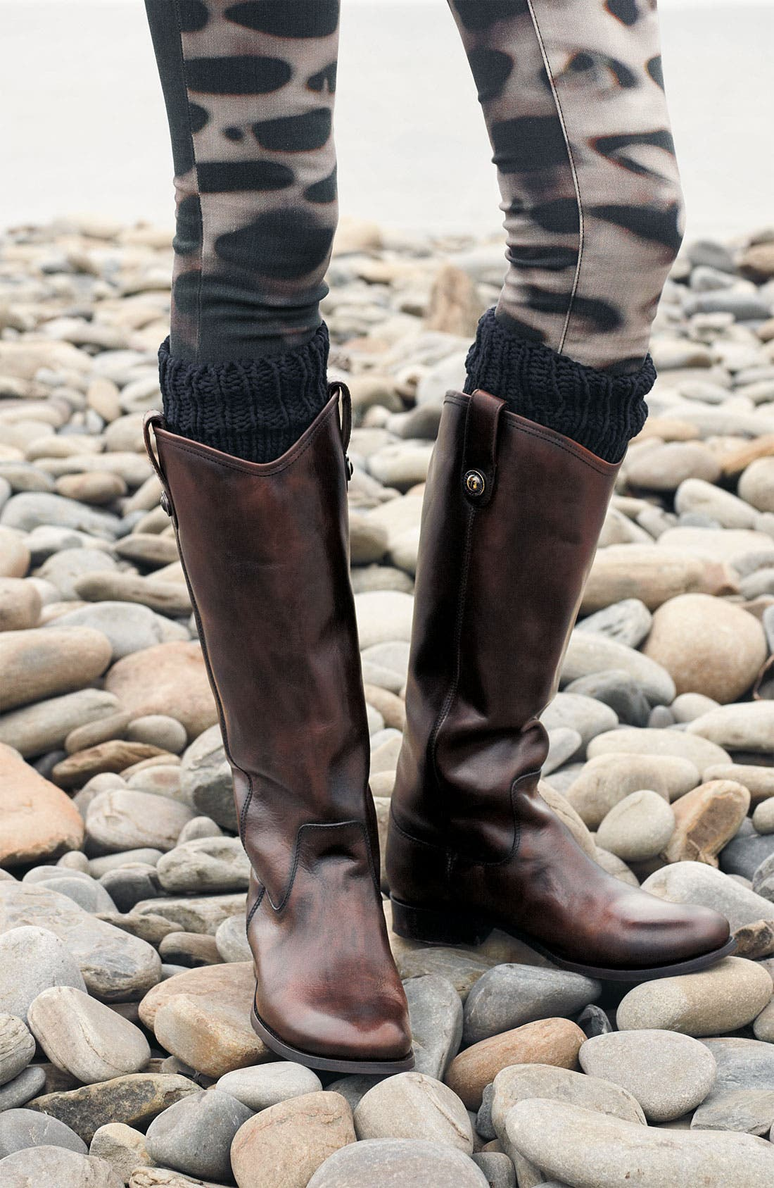 'Melissa Button' Leather Riding Boot,                             Alternate thumbnail 2, color,                             002
