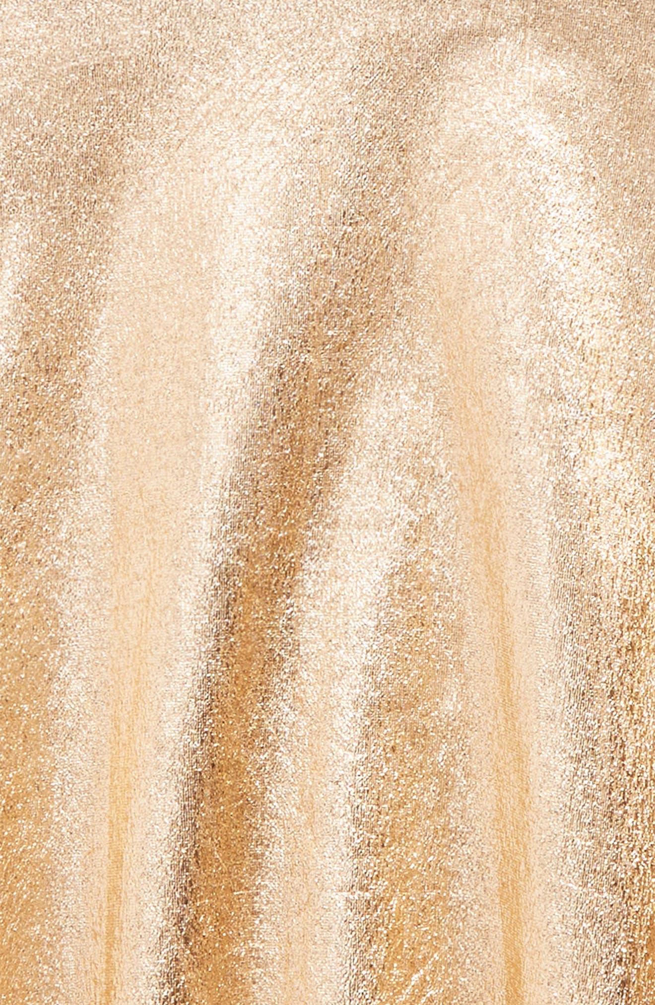 metallic skirt,                             Alternate thumbnail 2, color,                             650