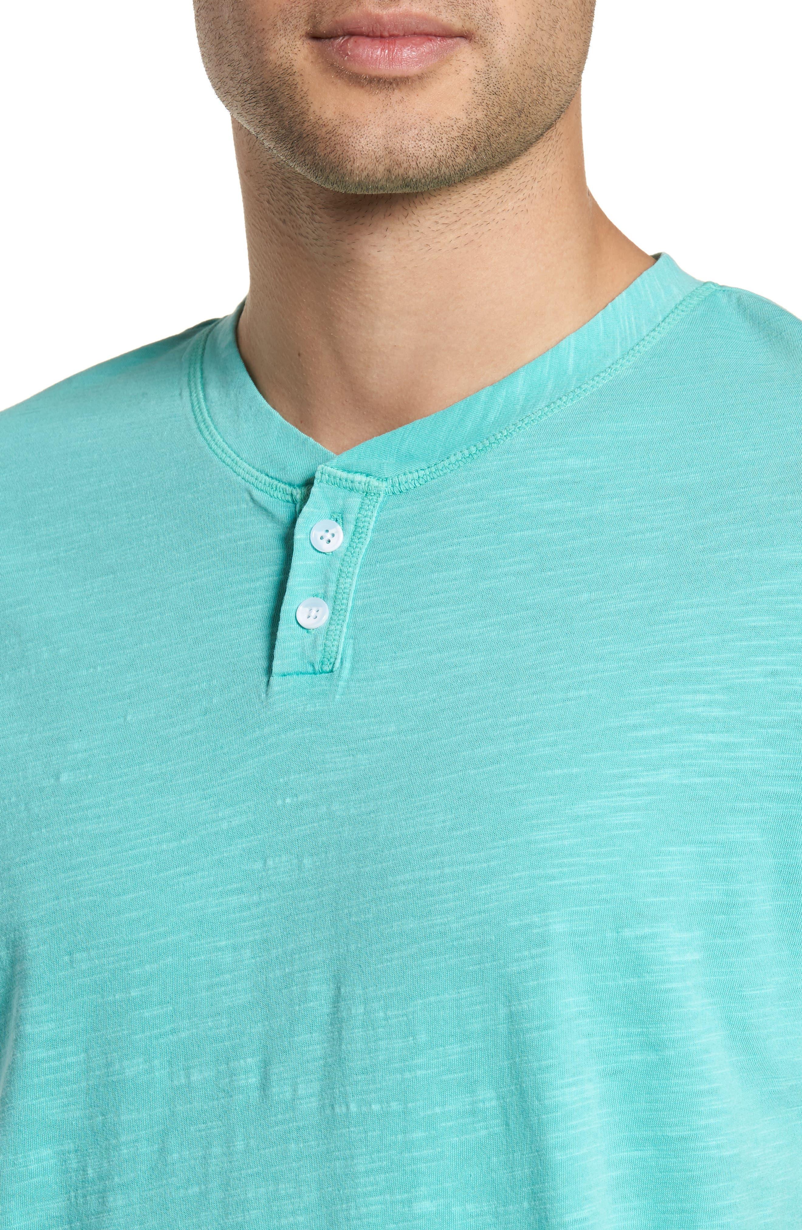Garment Dye Slub Knit Henley,                             Alternate thumbnail 18, color,