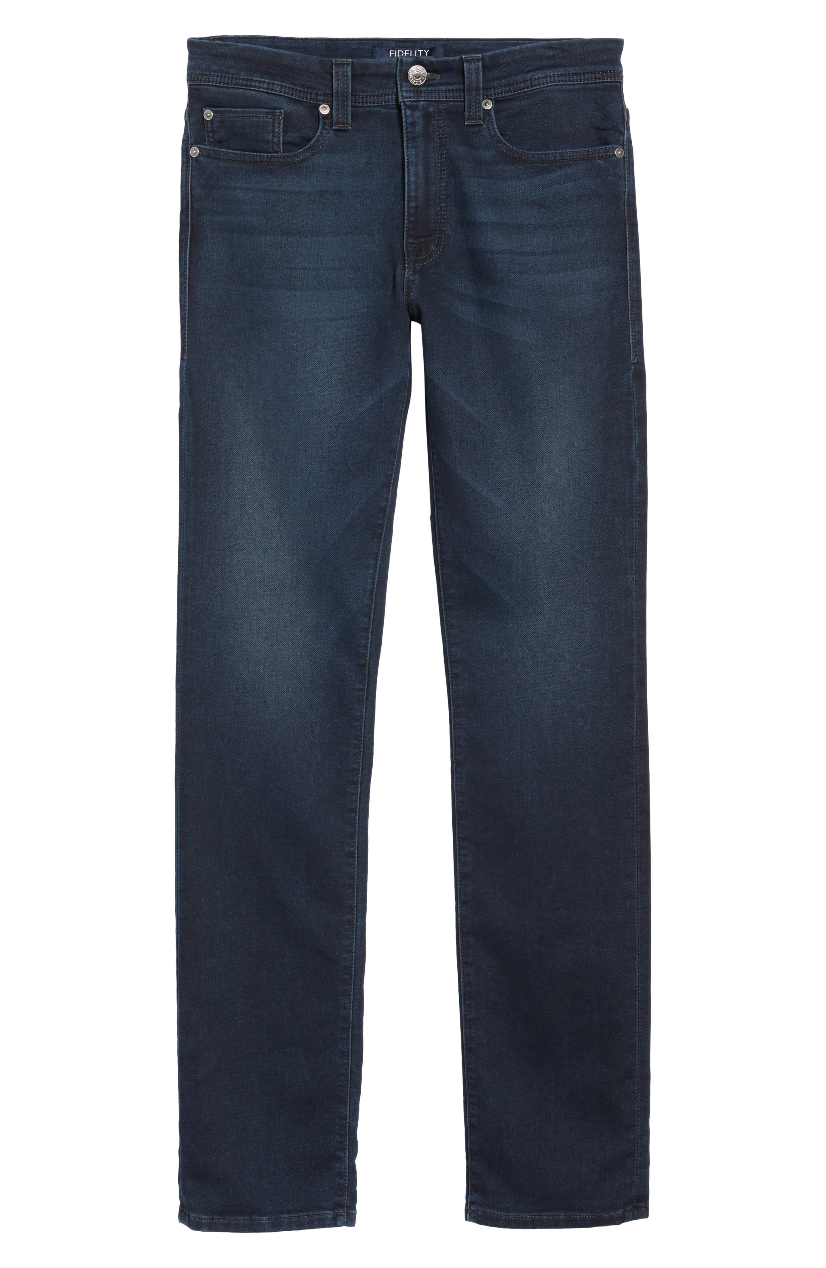Jimmy Slim Straight Fit Jeans,                             Alternate thumbnail 6, color,                             400