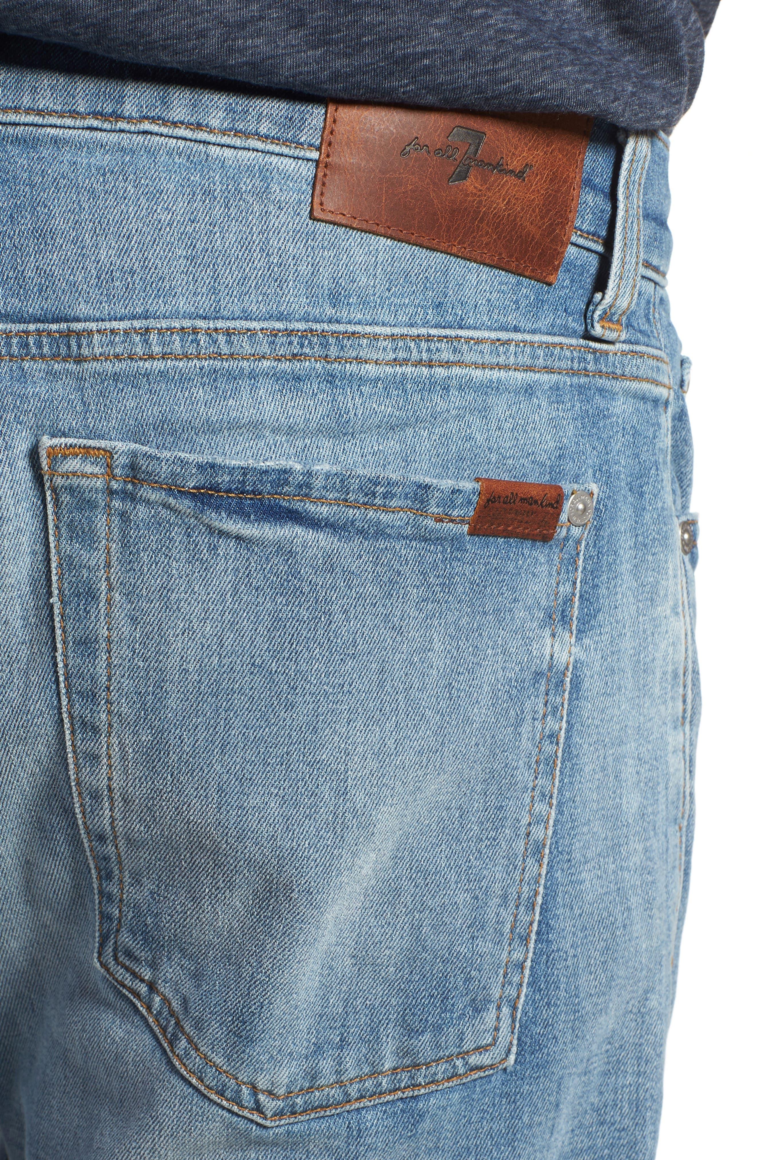Slimmy Slim Fit Jeans,                             Alternate thumbnail 4, color,                             400