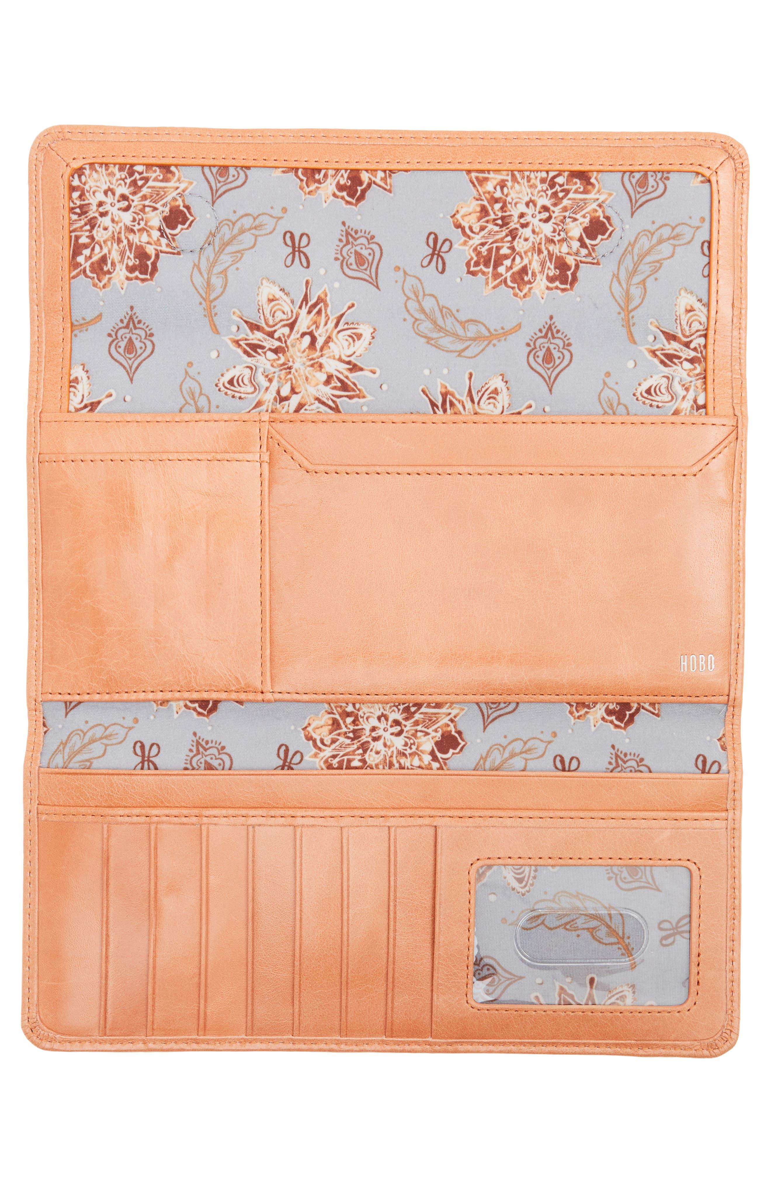 'Sadie' Leather Wallet,                             Alternate thumbnail 145, color,