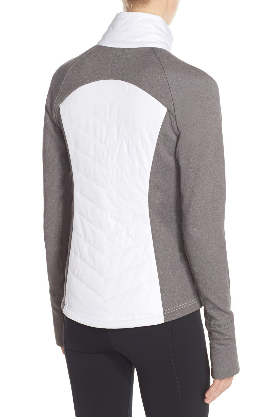 Zelfusion Reflective Quilted Jacket,                             Alternate thumbnail 60, color,