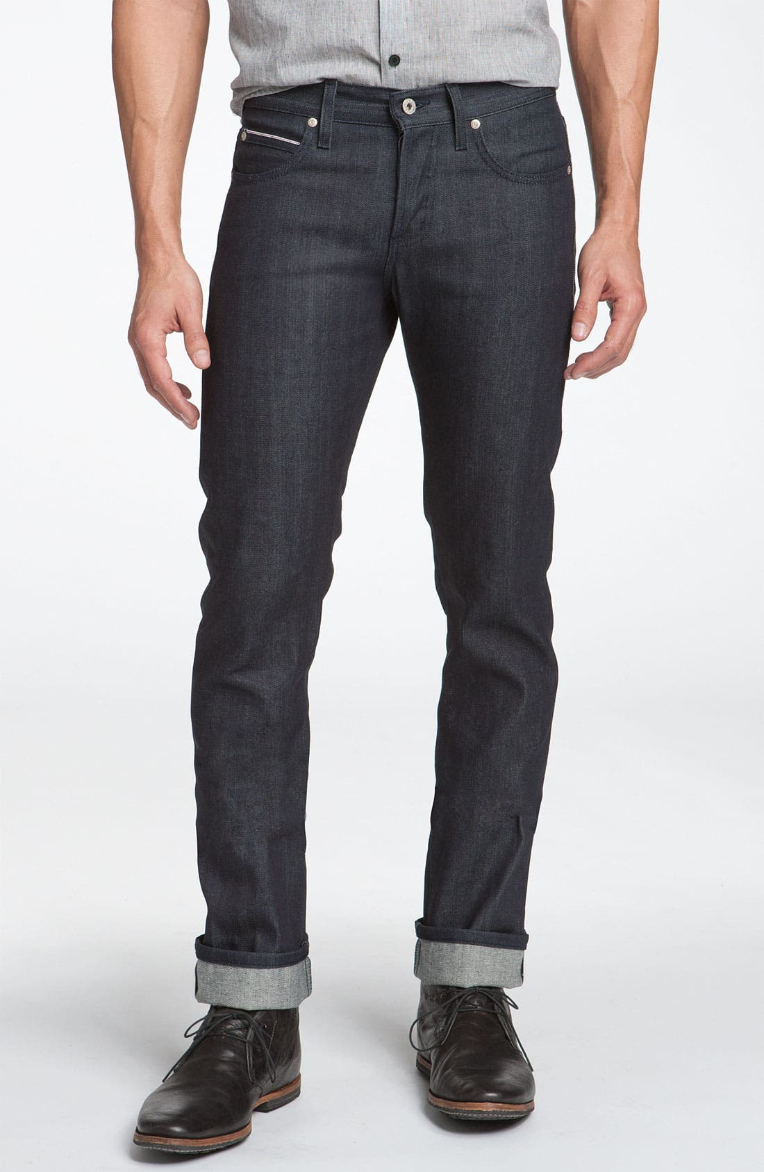 Naked & Famous 'Skinny Guy' Jeans,                             Alternate thumbnail 2, color,                             401