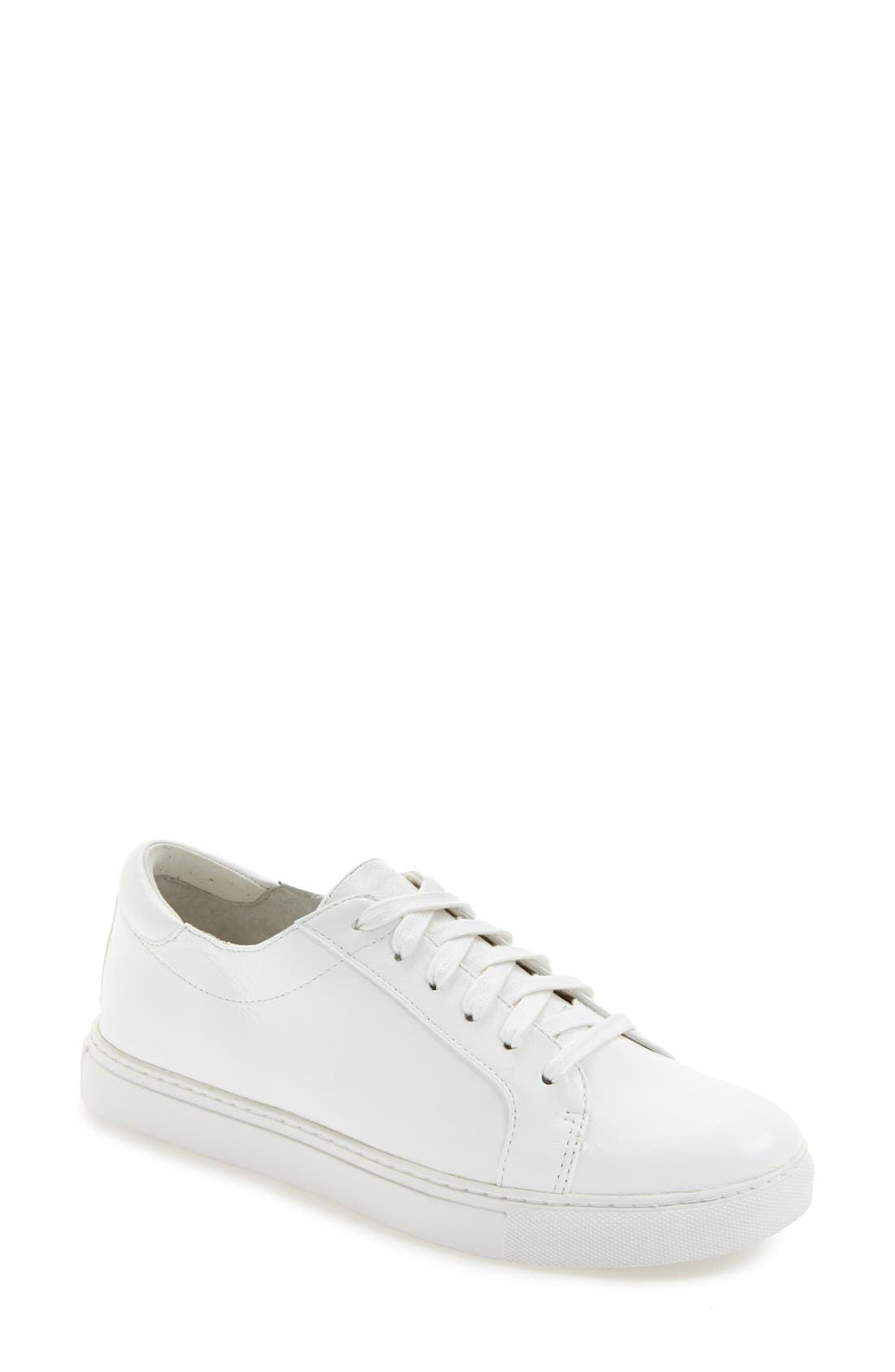 'Kam' Sneaker,                             Main thumbnail 1, color,                             WHITE