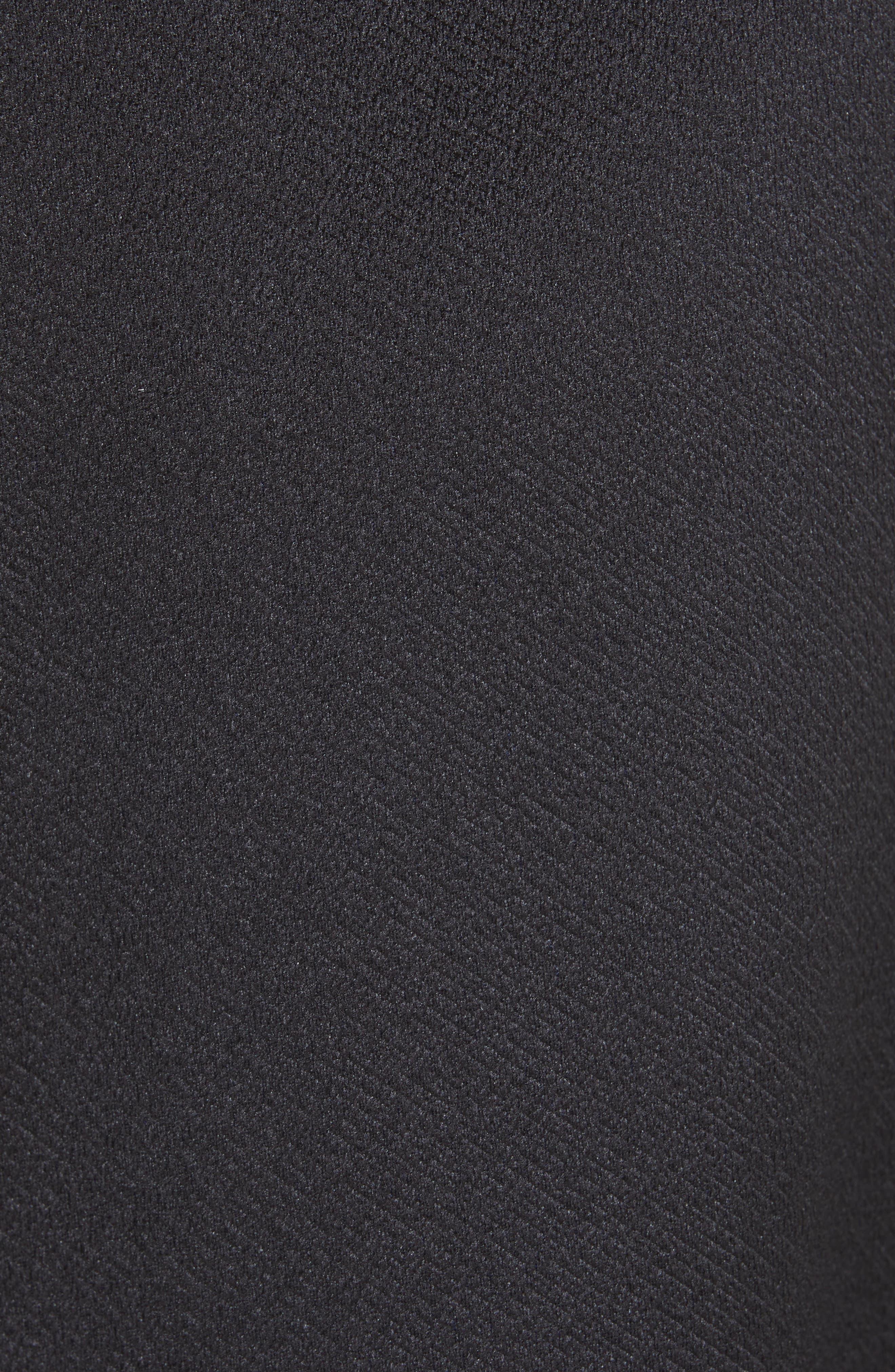 JASON WU COLLECTION,                             Double Face Cocktail Dress,                             Alternate thumbnail 5, color,                             BLACK
