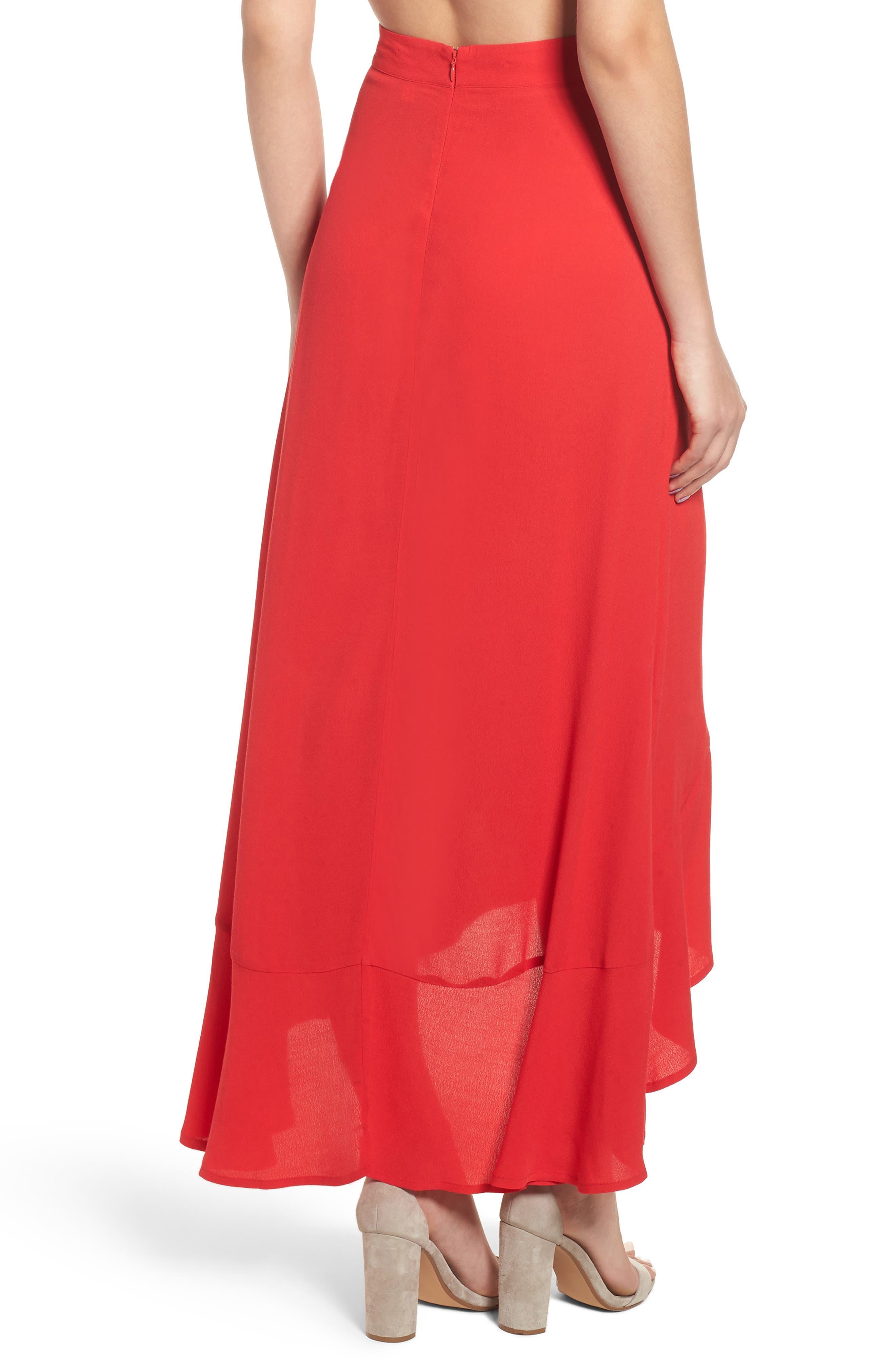 High Waist Tulip Skirt,                             Alternate thumbnail 2, color,                             610