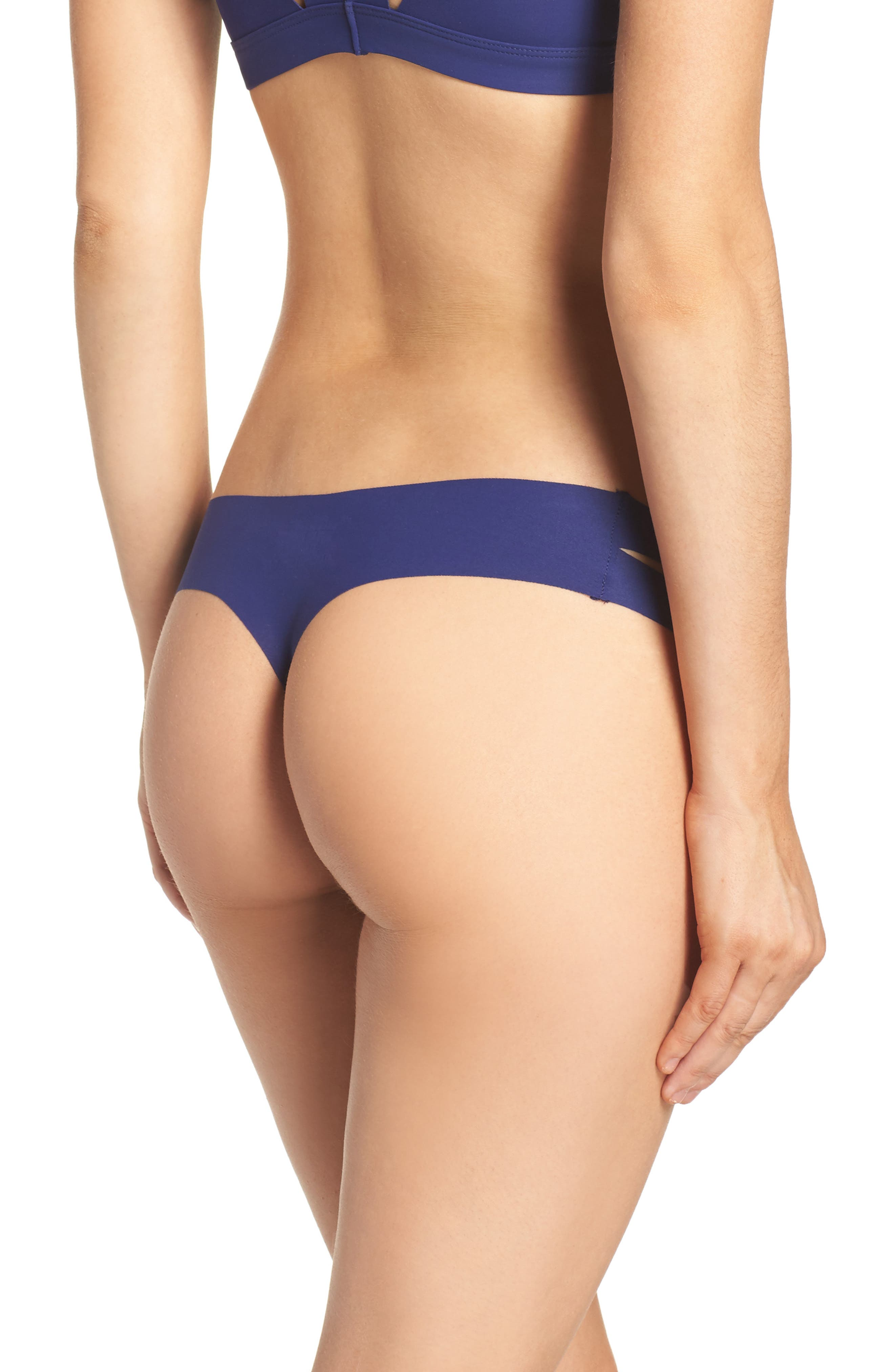 Strappy Sides Thong,                             Alternate thumbnail 6, color,