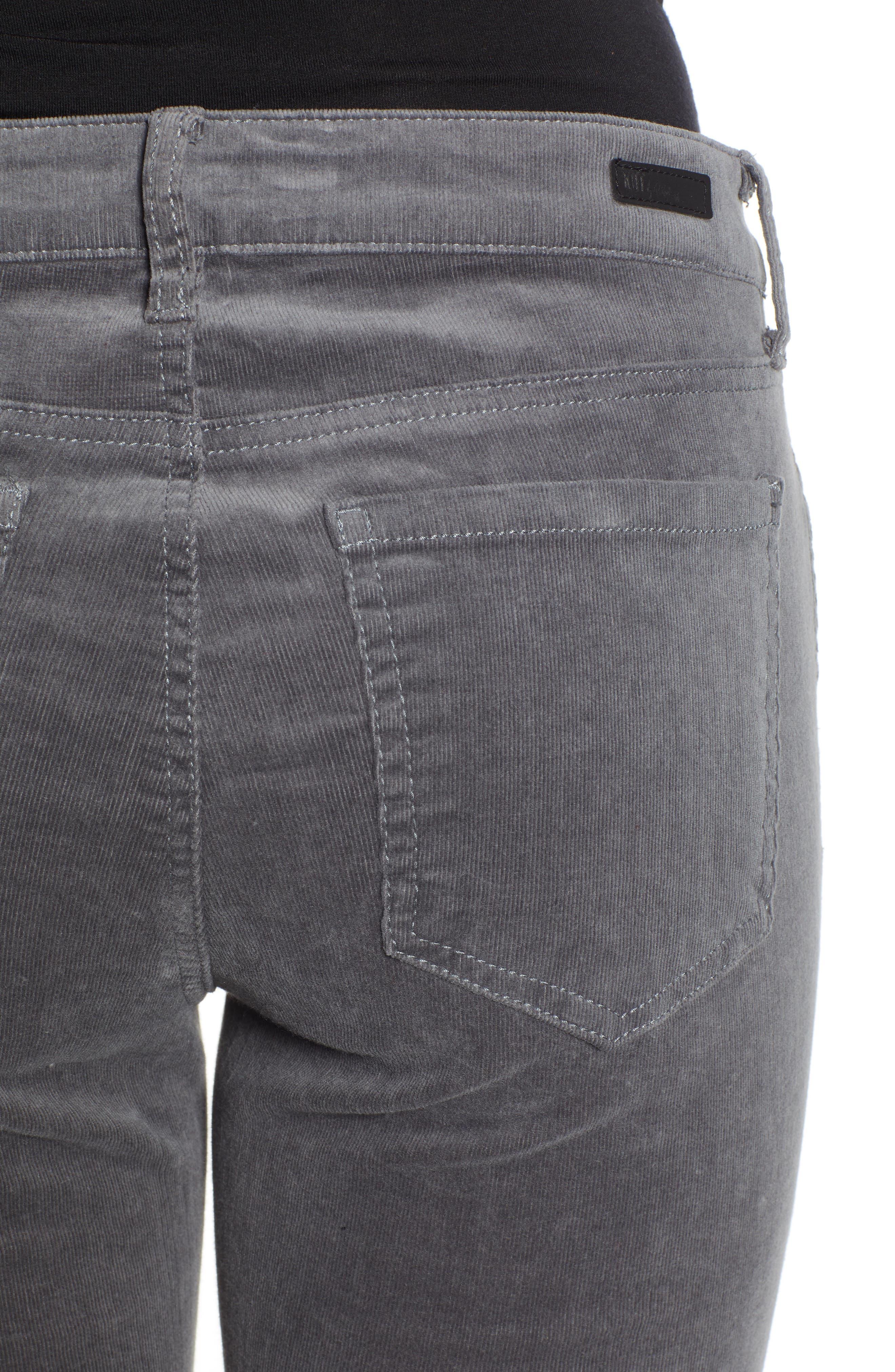'Diana' Stretch Corduroy Skinny Pants,                             Alternate thumbnail 160, color,
