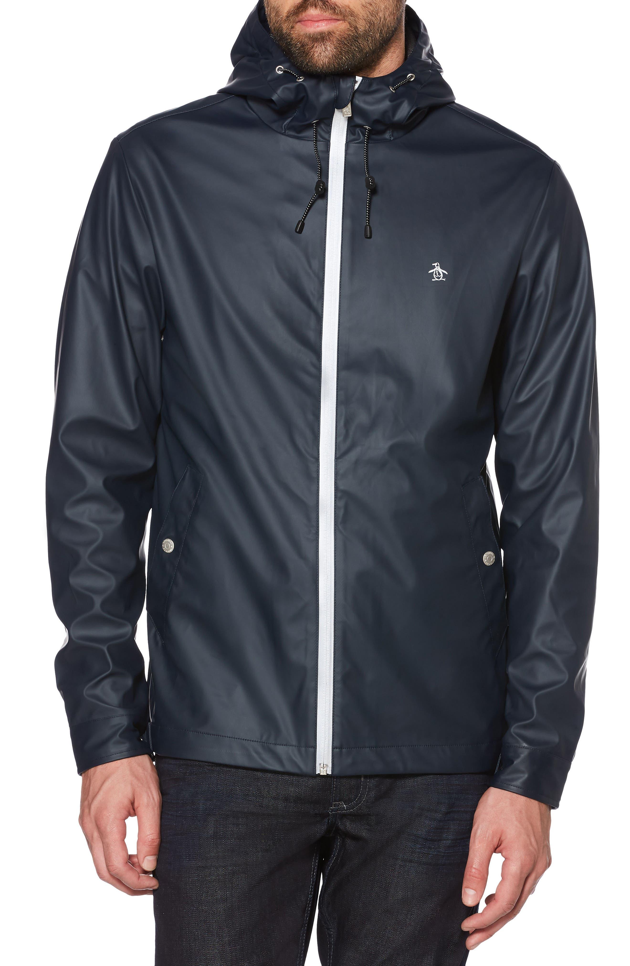 Rubber Jacket,                         Main,                         color, 413
