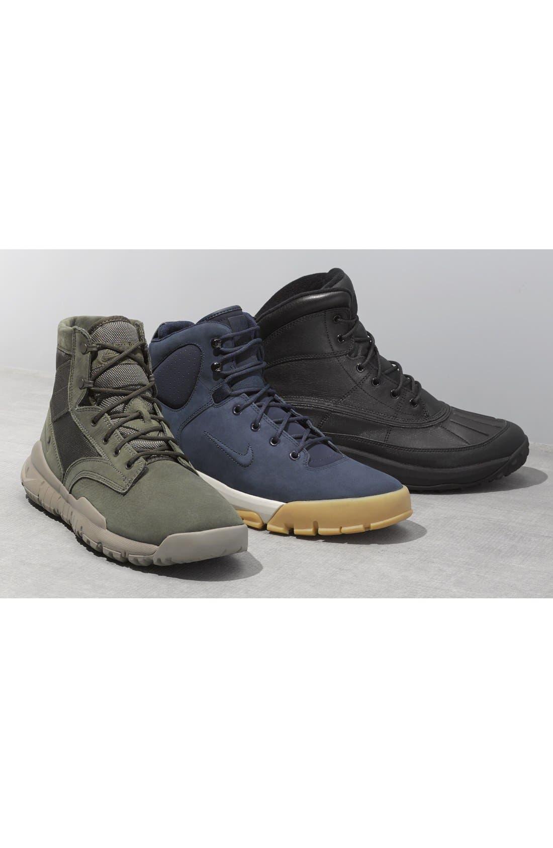 'SFB' Plain Toe Boot,                             Alternate thumbnail 5, color,                             001