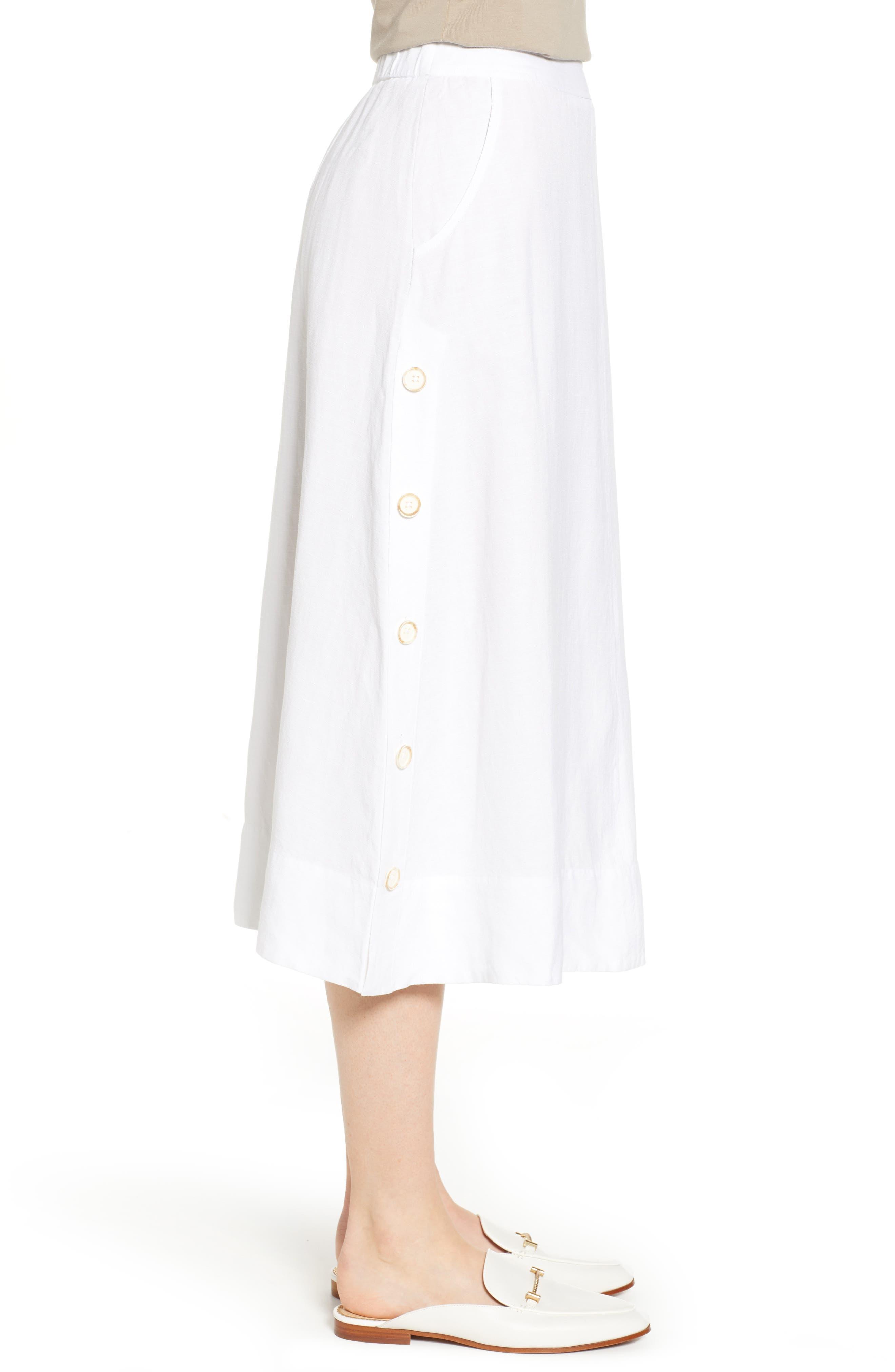 Front Runner Skirt,                             Alternate thumbnail 3, color,                             PAPER WHITE