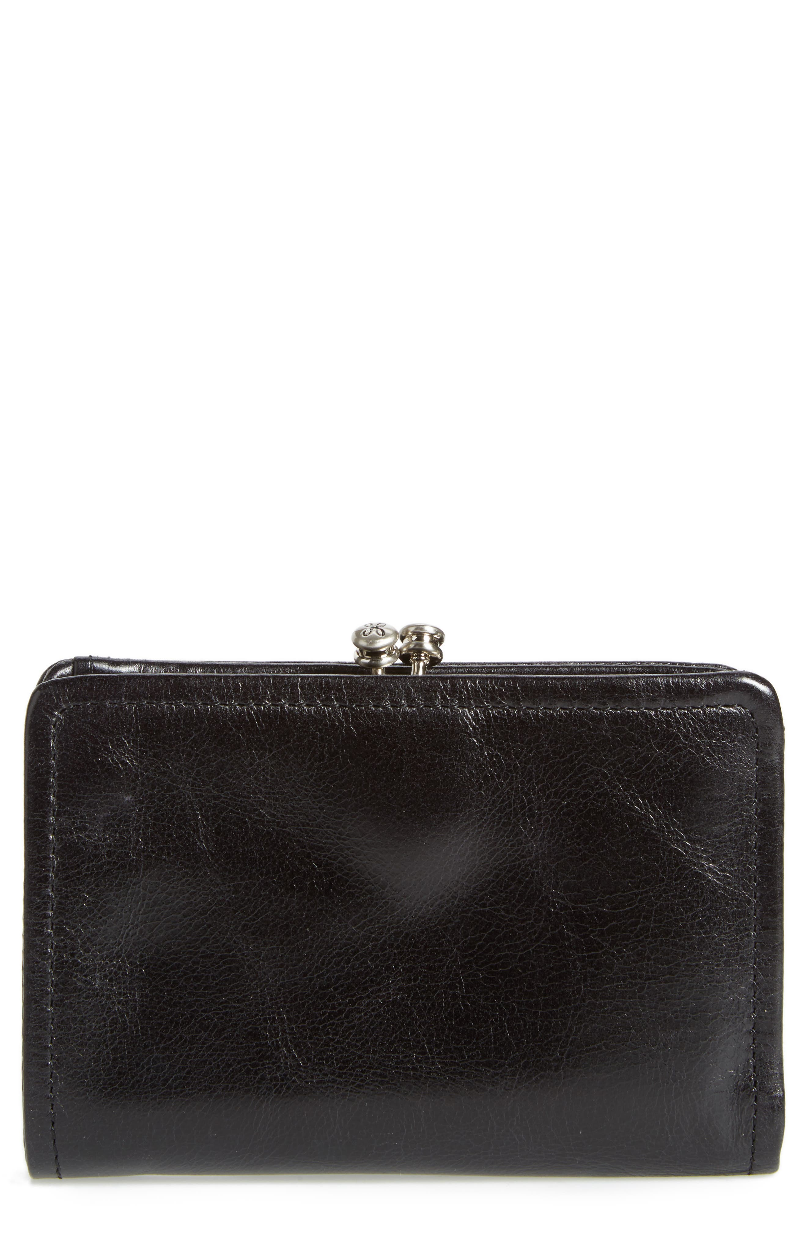 Delta Calfskin Leather Wallet,                         Main,                         color, 001